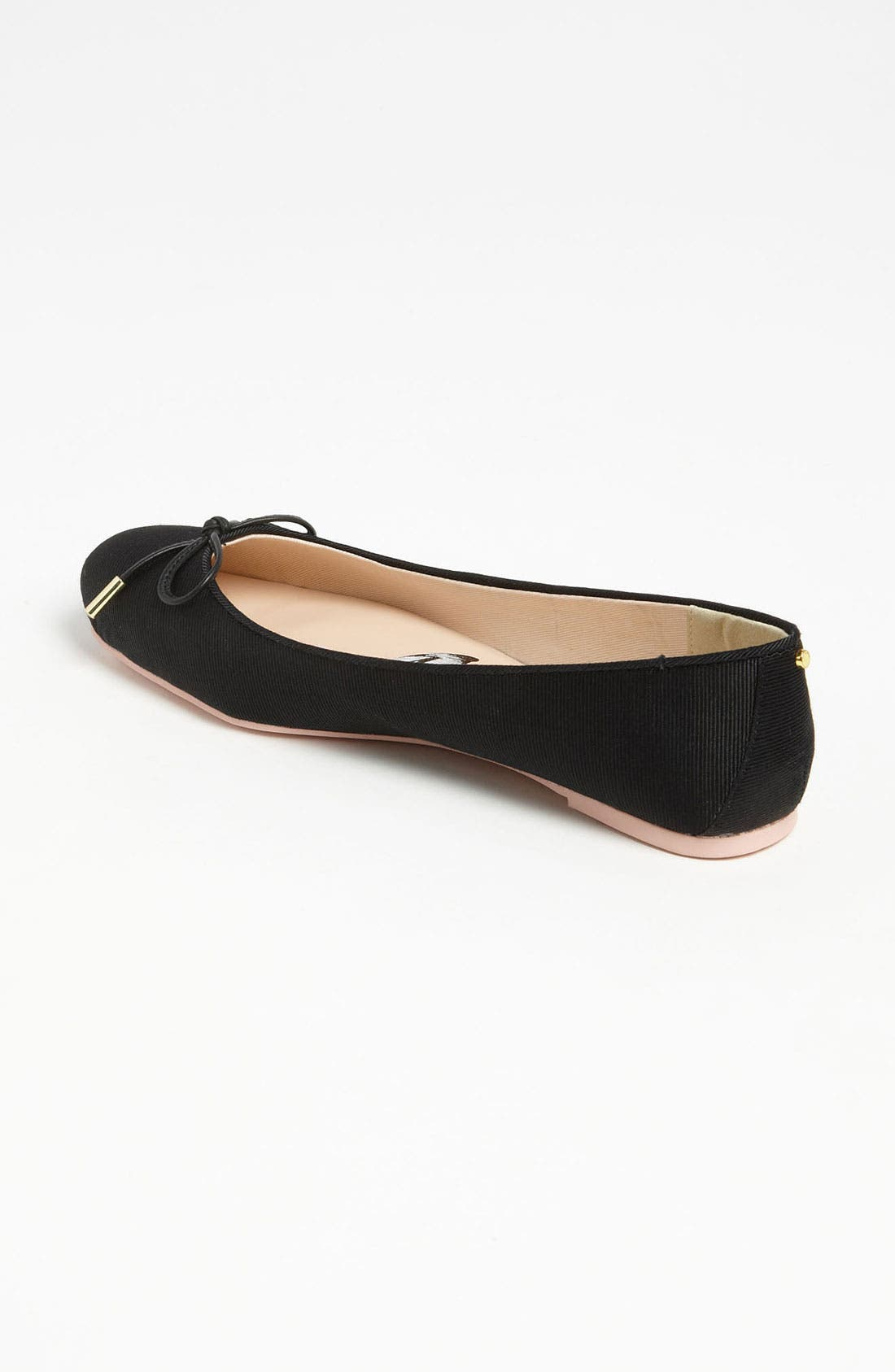'Charee' Ballet Flat,                             Alternate thumbnail 4, color,                             011