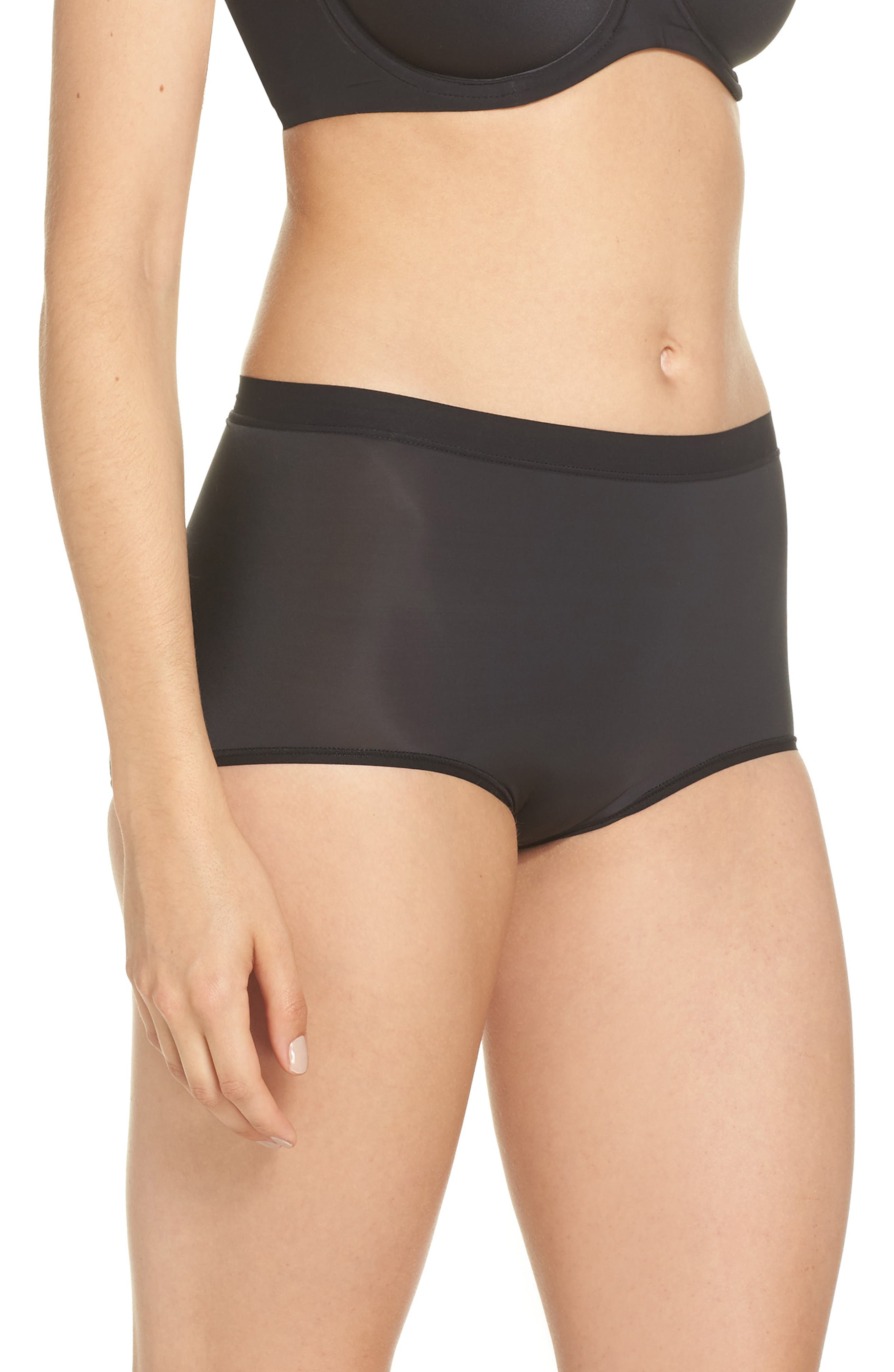 Flawless Comfort Briefs,                             Alternate thumbnail 3, color,                             BLACK