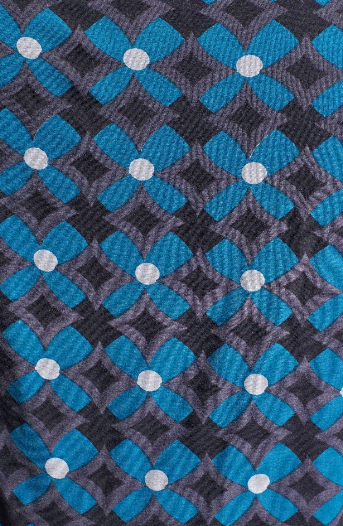 Drape Neck Print Top,                             Alternate thumbnail 14, color,