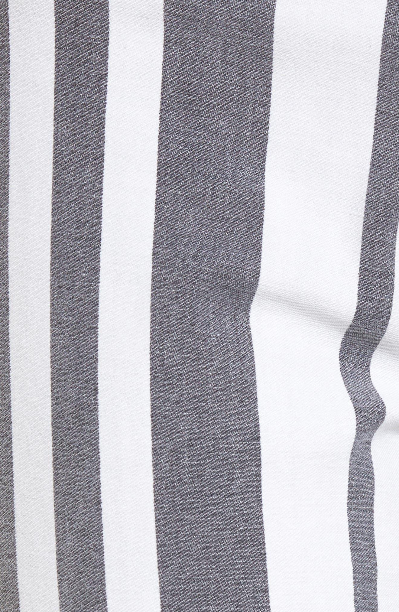 Barbara High Waist Ankle Super Skinny Jeans,                             Alternate thumbnail 5, color,                             461