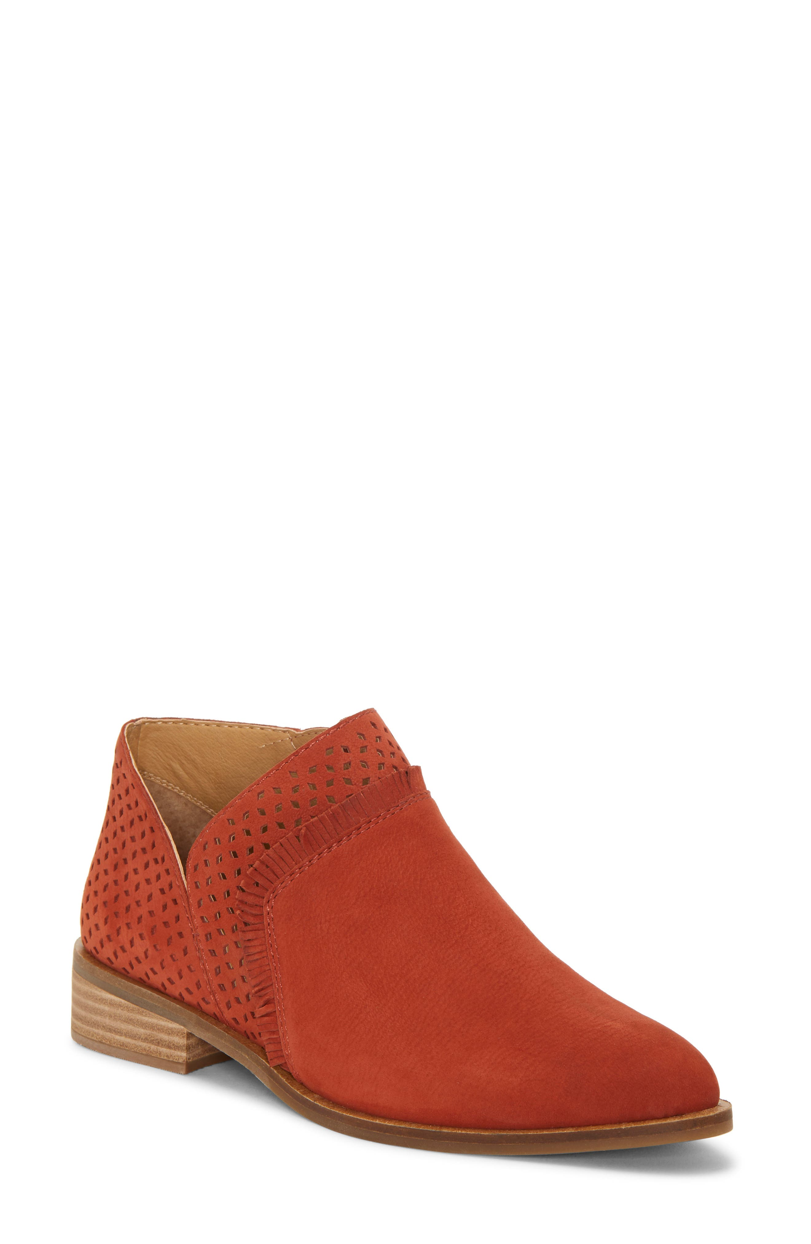 Lucky Brand Pakpao Bootie, Red