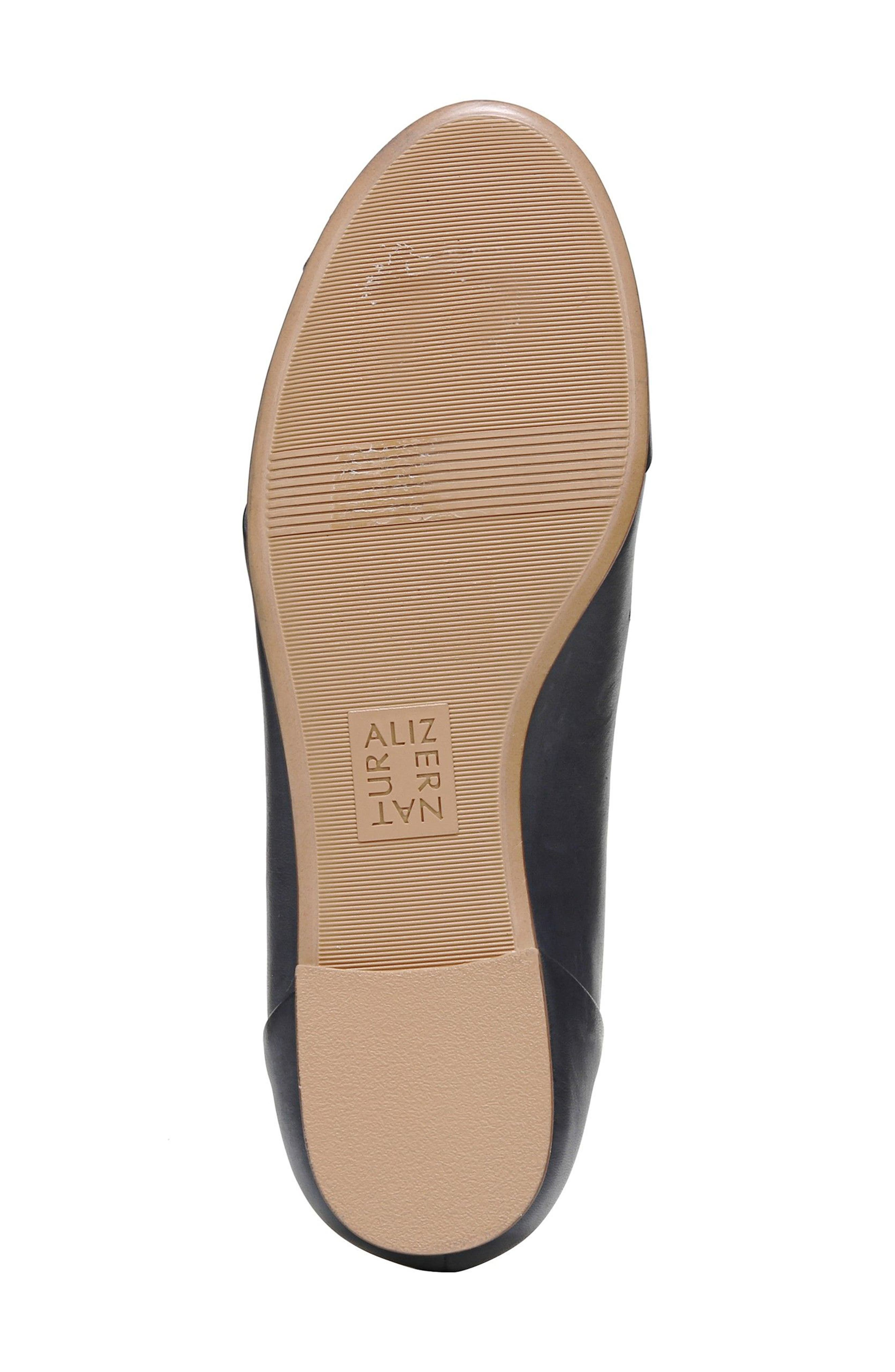 Gilly Flat,                             Alternate thumbnail 6, color,                             NAVY LEATHER