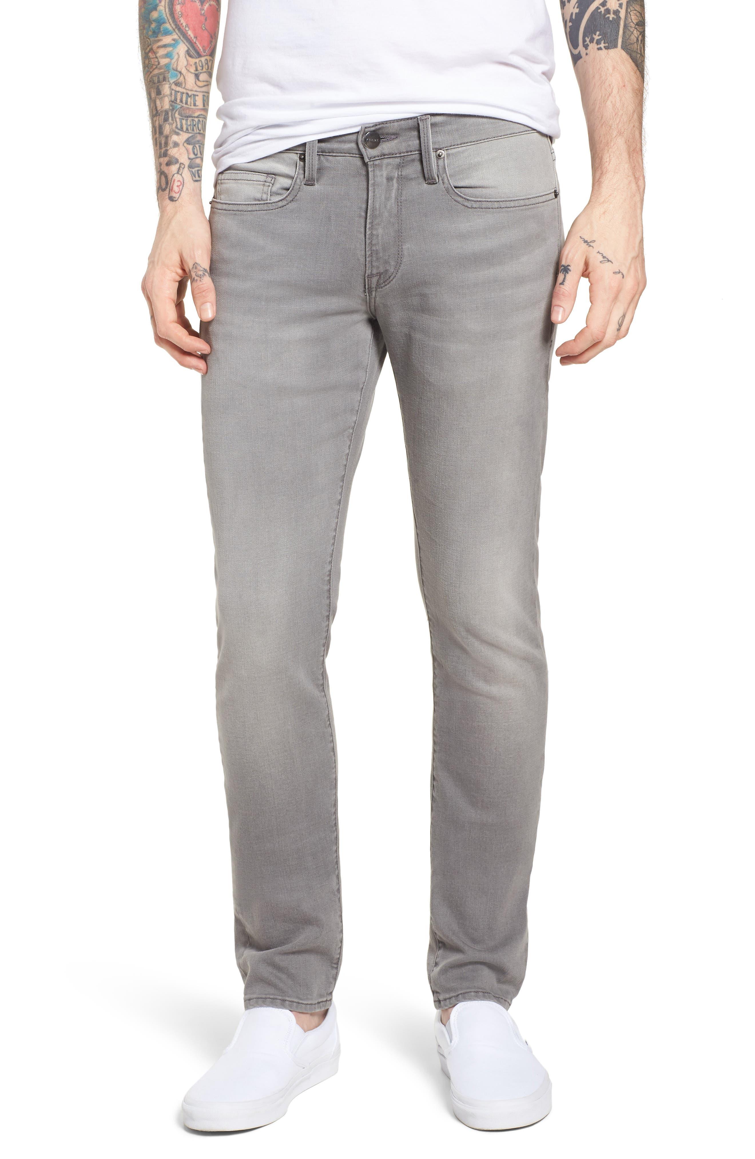 FRAME,                             L'Homme Slim Fit Jeans,                             Main thumbnail 1, color,                             031