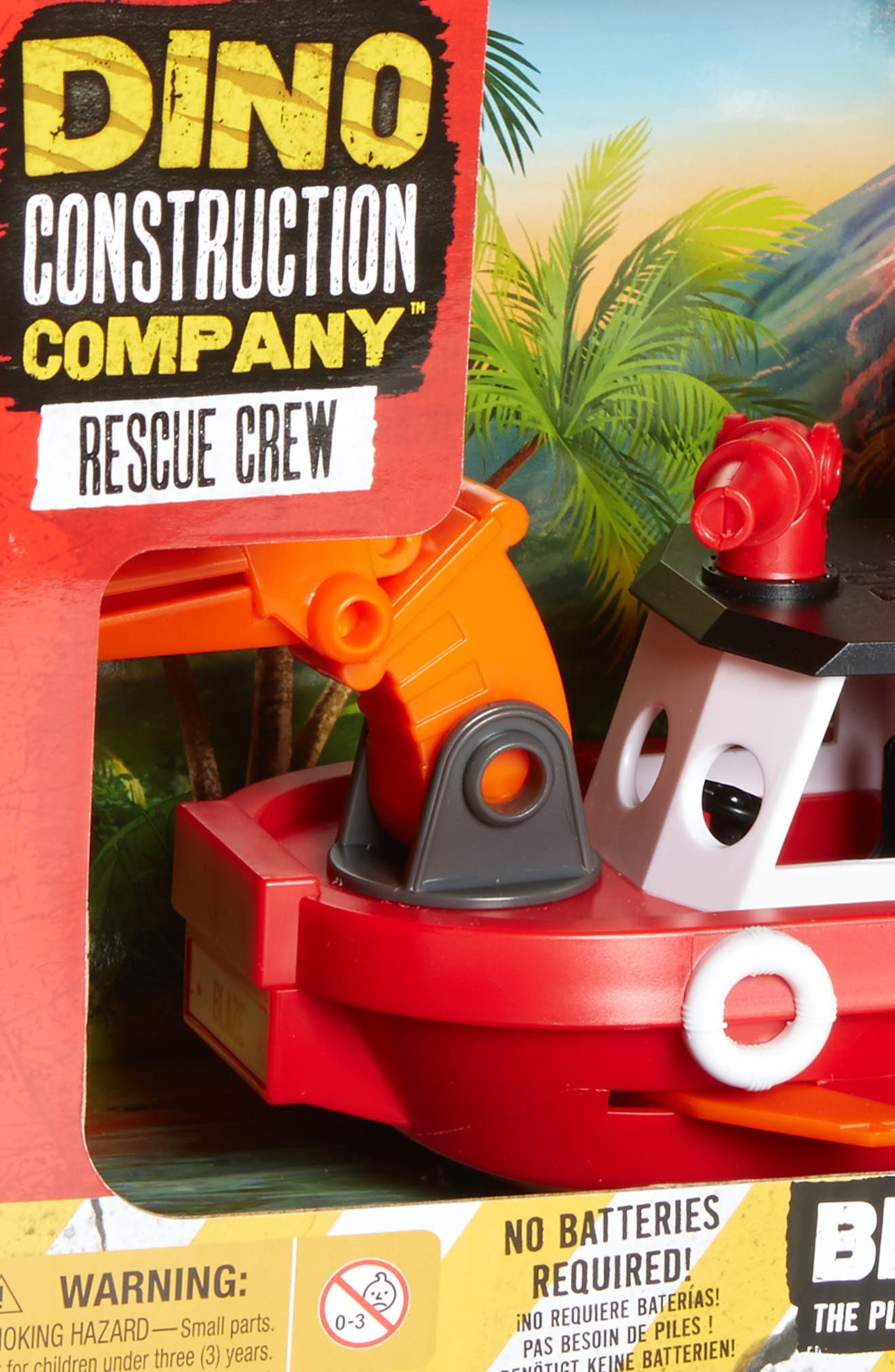 EDUCATIONAL INSIGHTS,                             Dino Construction Company<sup>™</sup> Rescue Crew Blaze the Plesiosaurus Fireboat,                             Alternate thumbnail 2, color,                             600