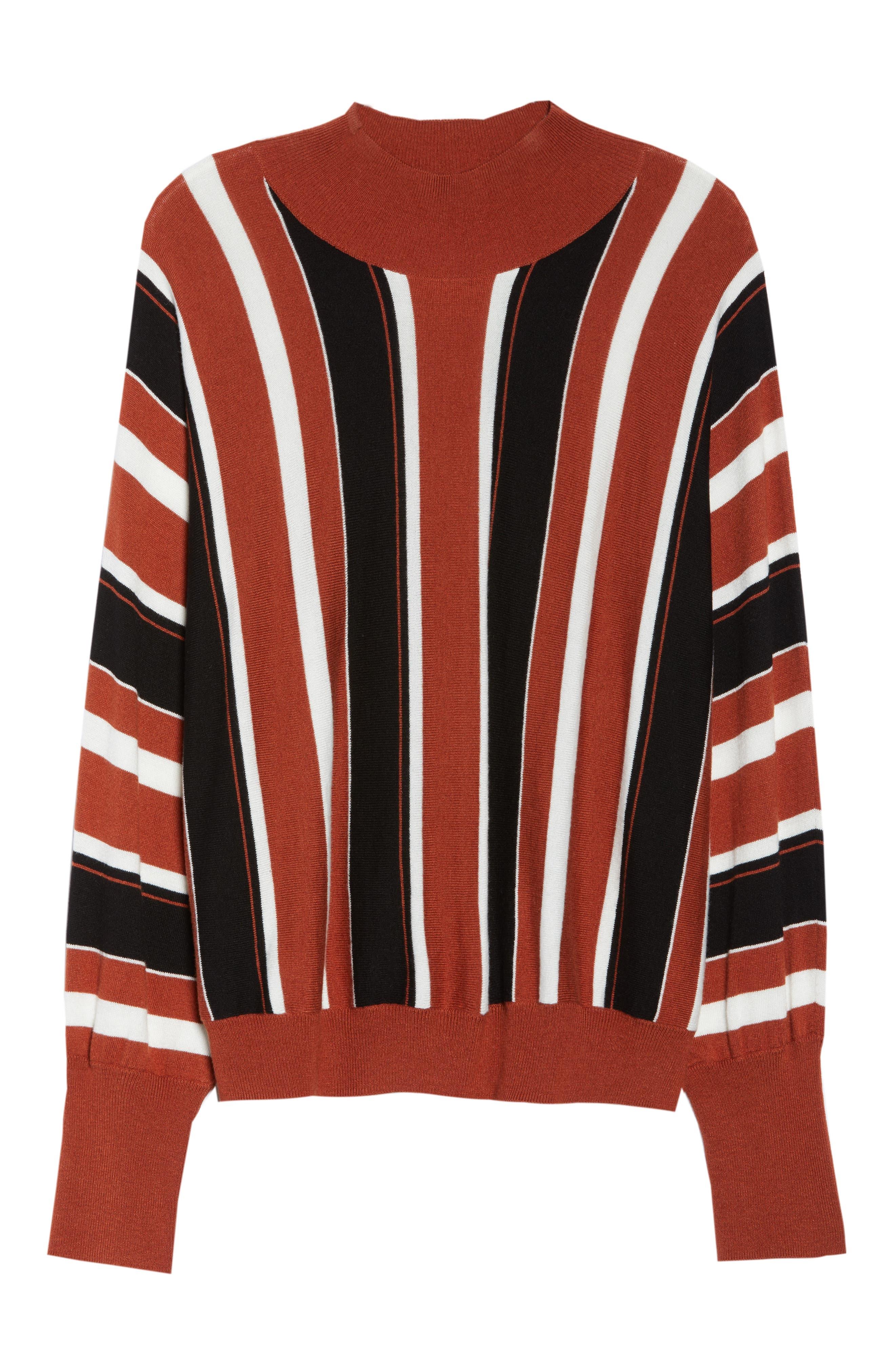 Stripe Dolman Sleeve Sweater,                             Alternate thumbnail 11, color,                             210