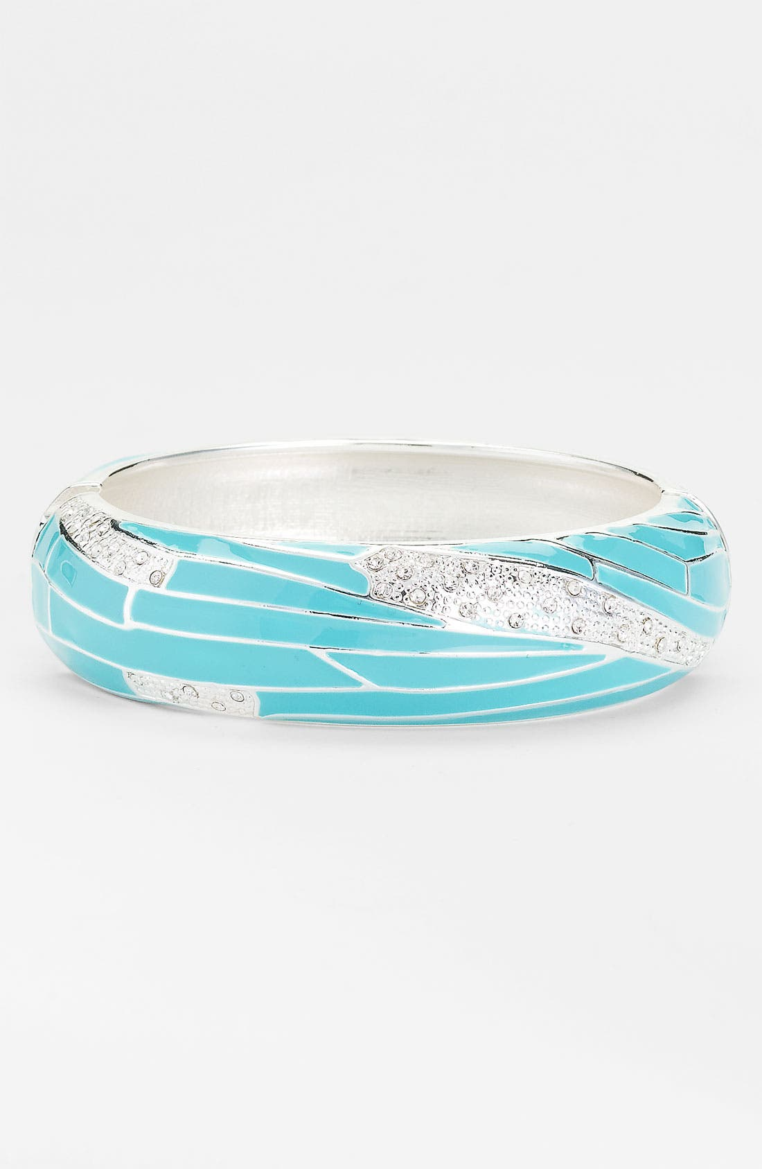 Large Insect Wing Enamel Bangle,                             Main thumbnail 11, color,