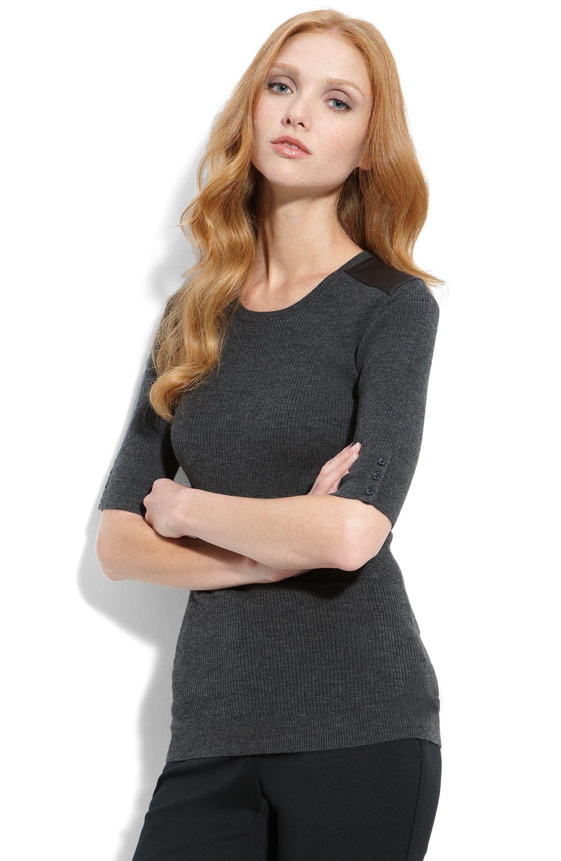 'Raina W - New Steady' Sweater,                             Main thumbnail 1, color,                             020