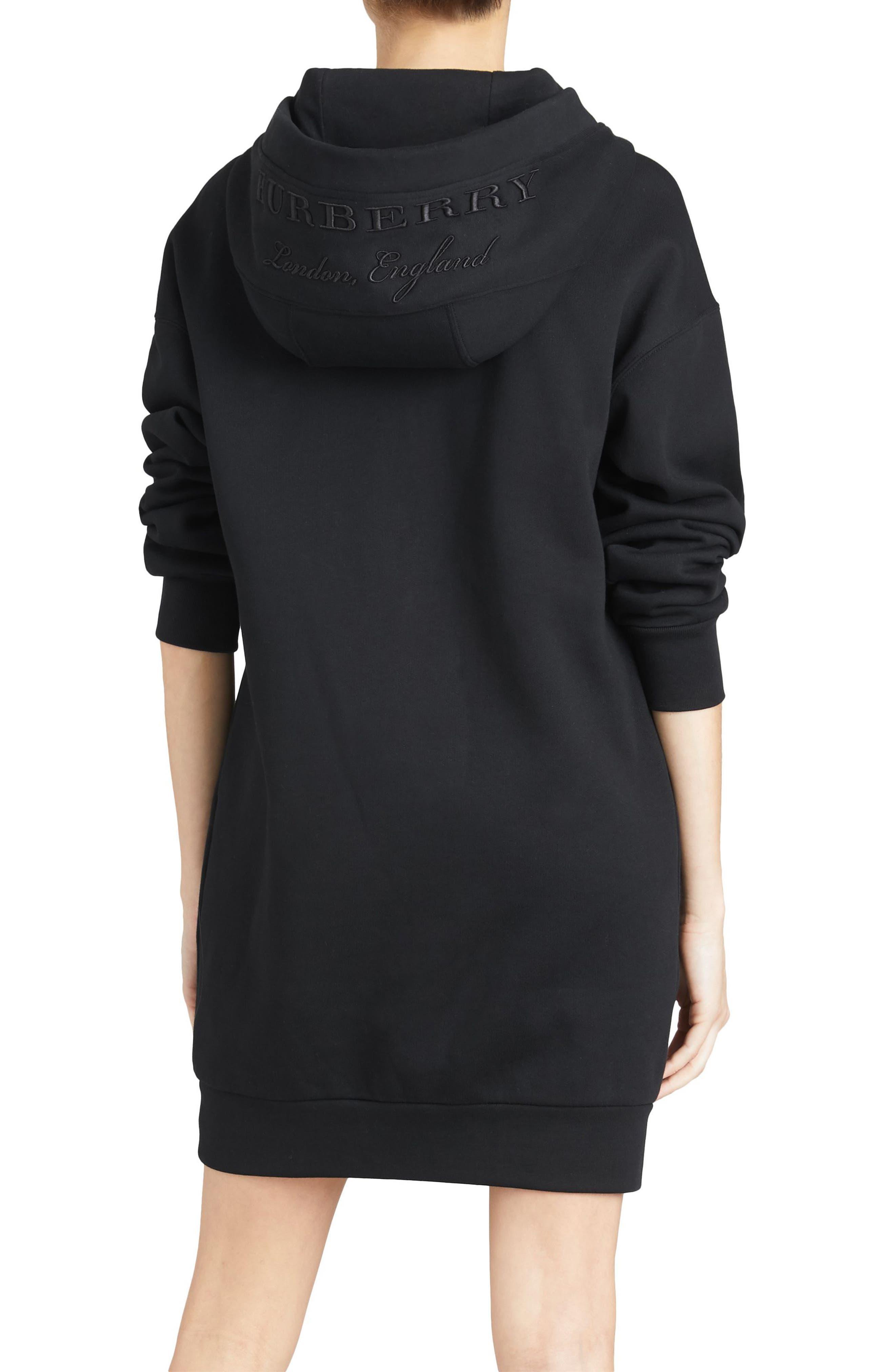 Cardeiver Jersey Sweatshirt Dress,                             Alternate thumbnail 2, color,                             001