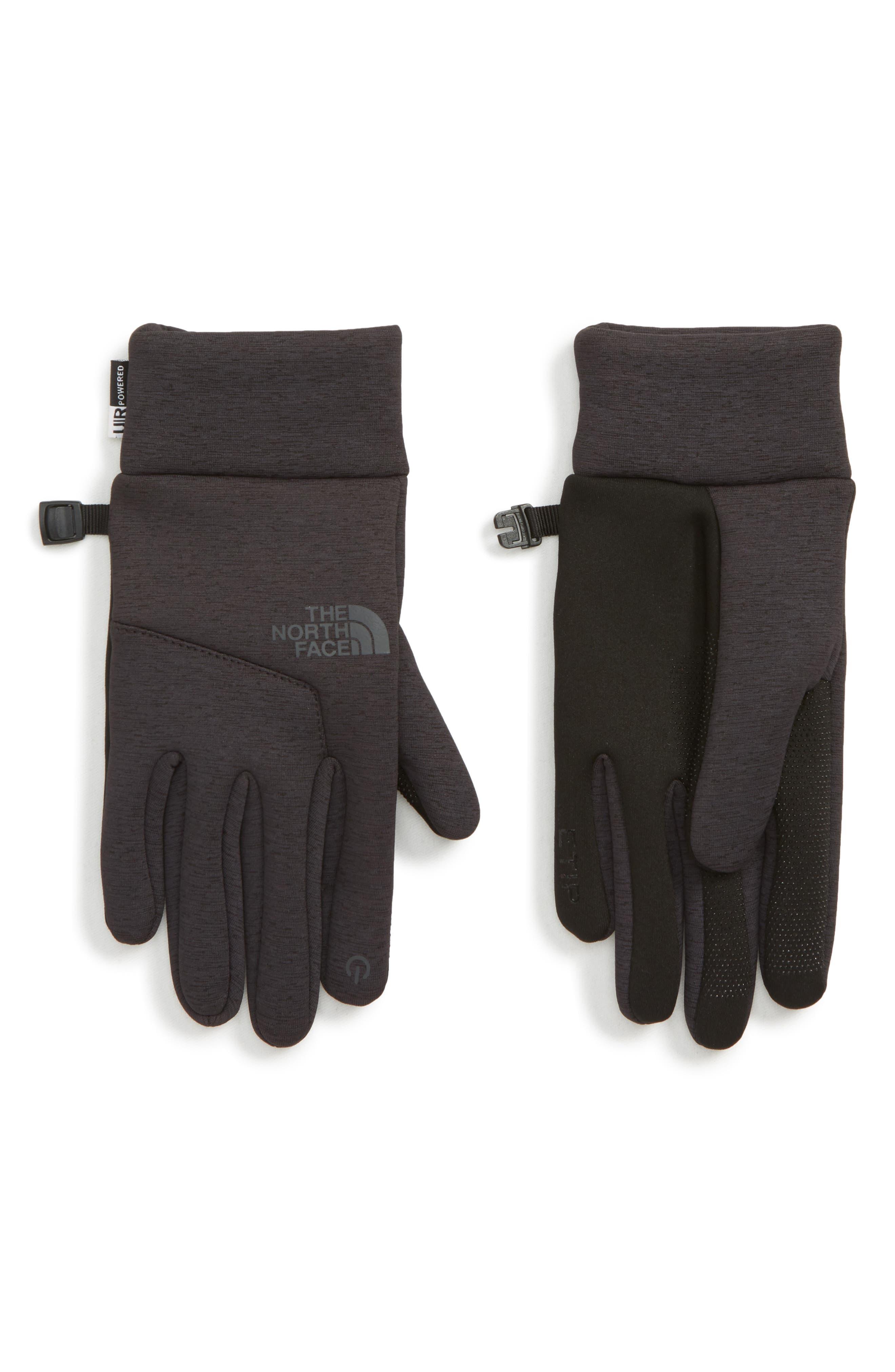 Etip<sup>™</sup> Hardface Tech Gloves,                             Main thumbnail 1, color,                             TNF BLACK HEATHER