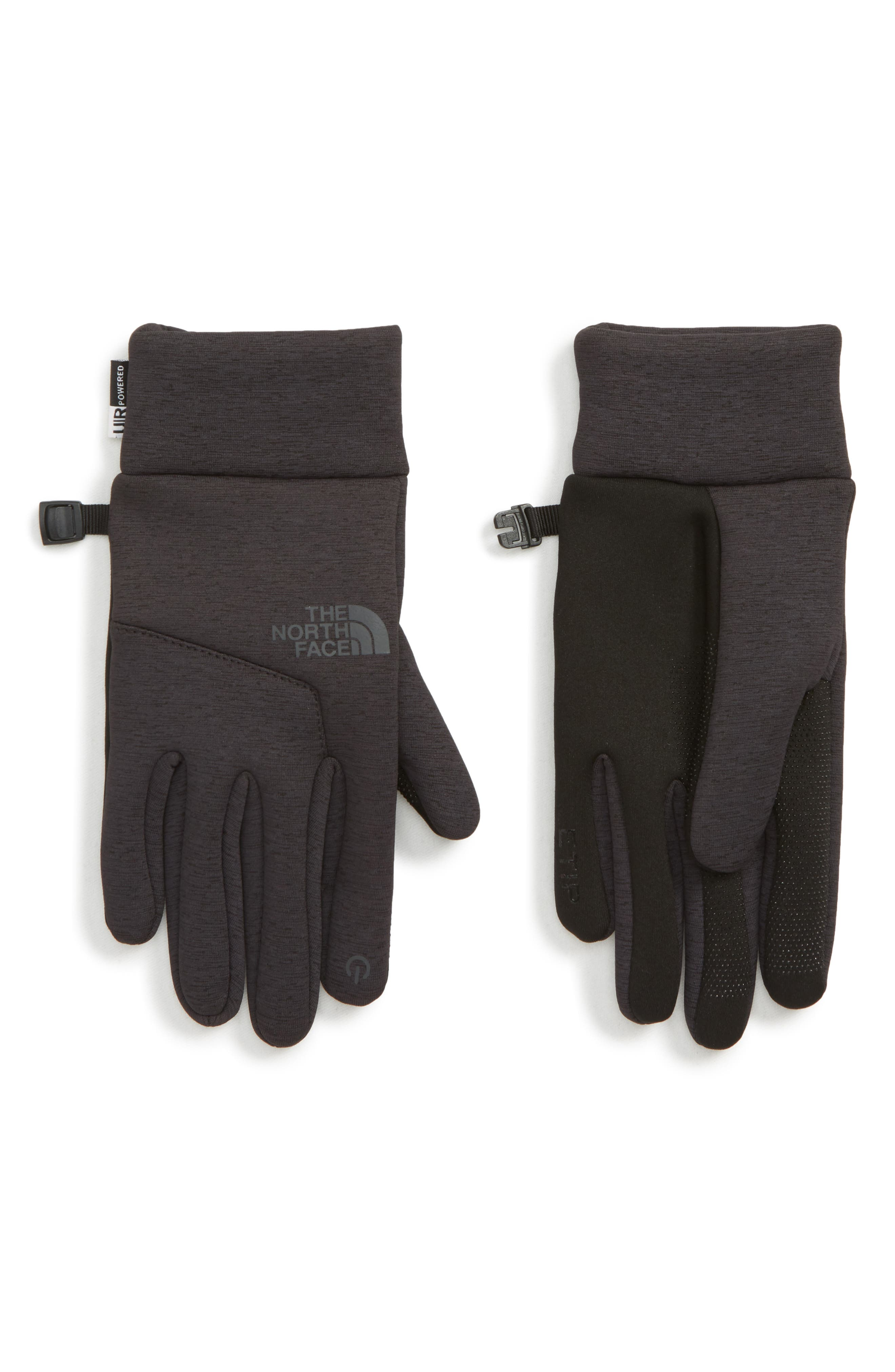 Etip<sup>™</sup> Hardface Tech Gloves,                         Main,                         color, TNF BLACK HEATHER