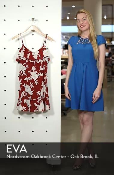 Floral Print Ruffle Dress, sales video thumbnail