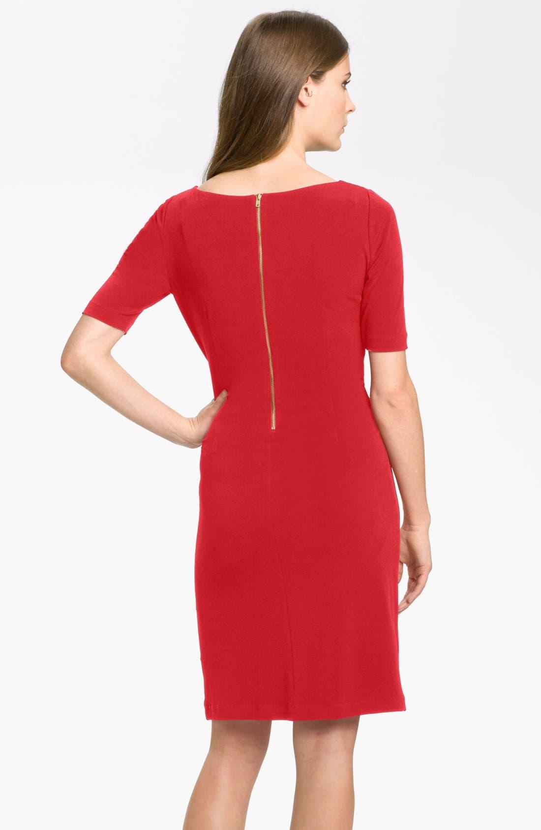 by Arthur S. Levine 'Kevin' Jersey Sheath Dress,                             Alternate thumbnail 14, color,