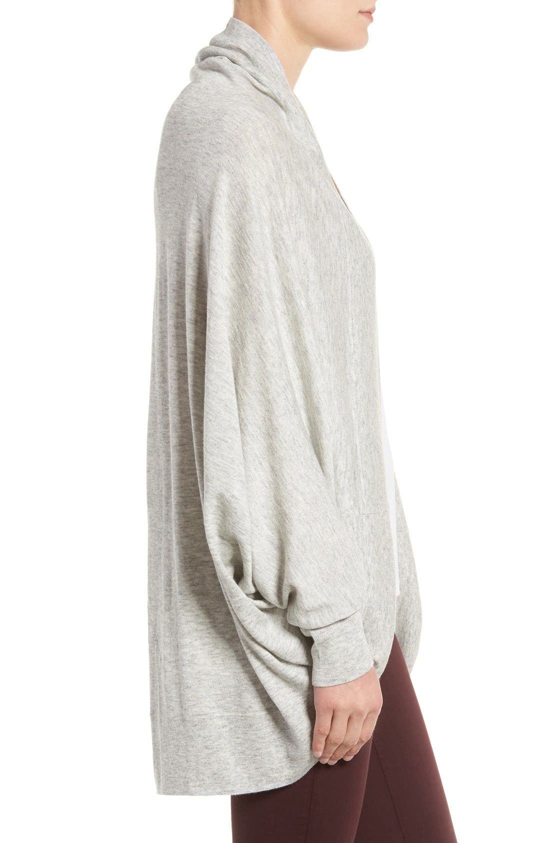 Knit Cocoon Cardigan,                             Alternate thumbnail 16, color,