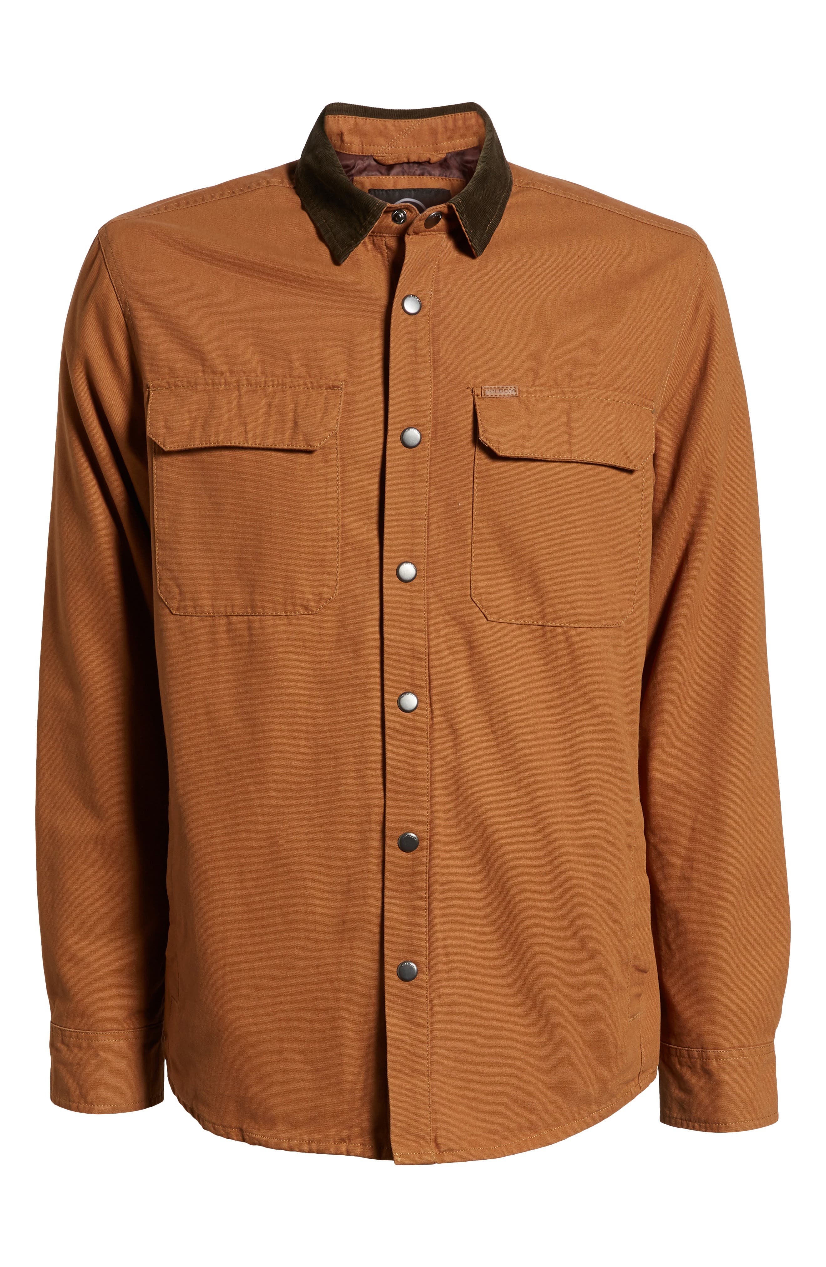 Larkin Classic Fit Jacket,                             Alternate thumbnail 5, color,                             CAMEL