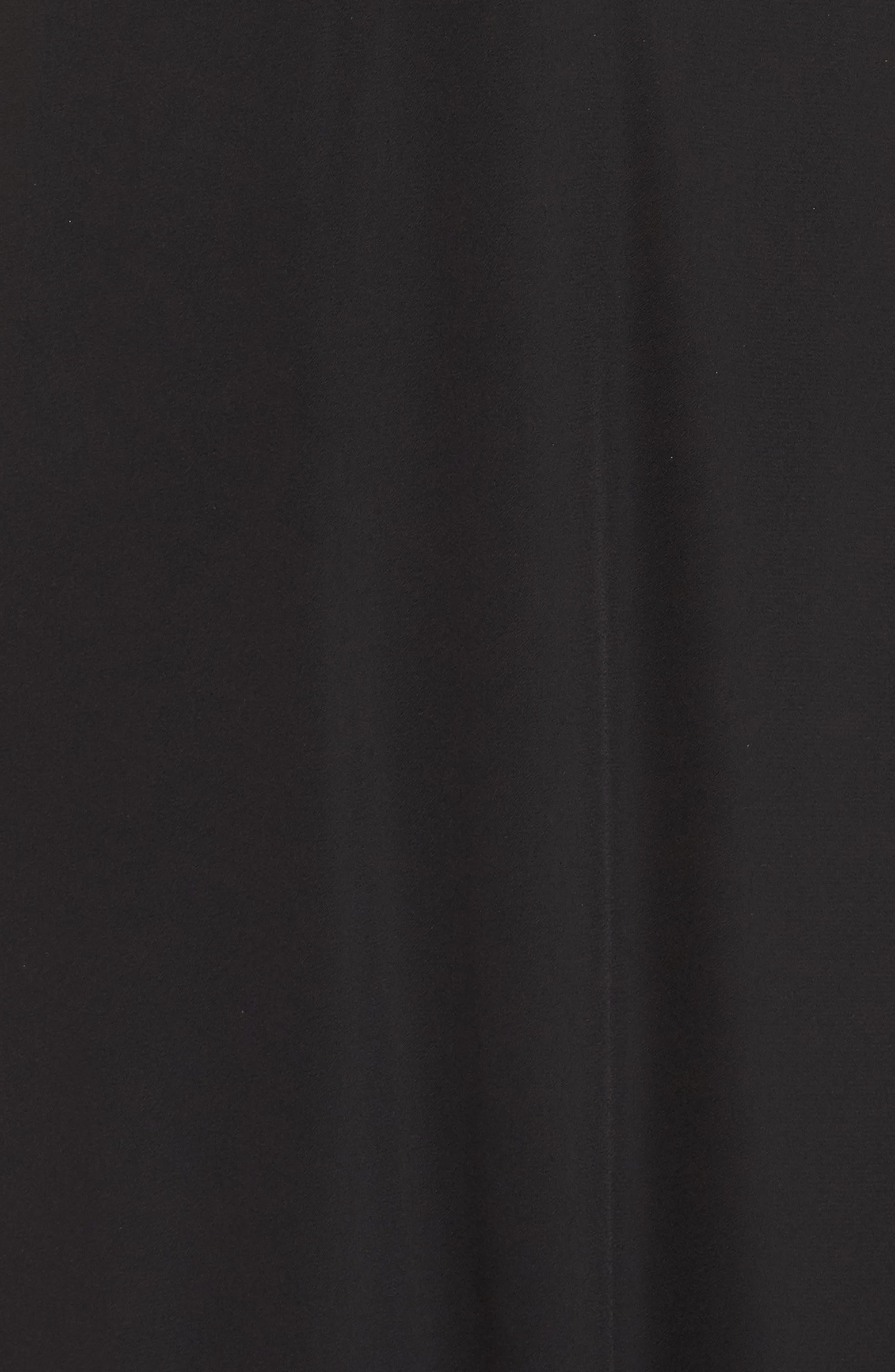 Halter A-Line Chiffon Gown,                             Alternate thumbnail 5, color,                             001