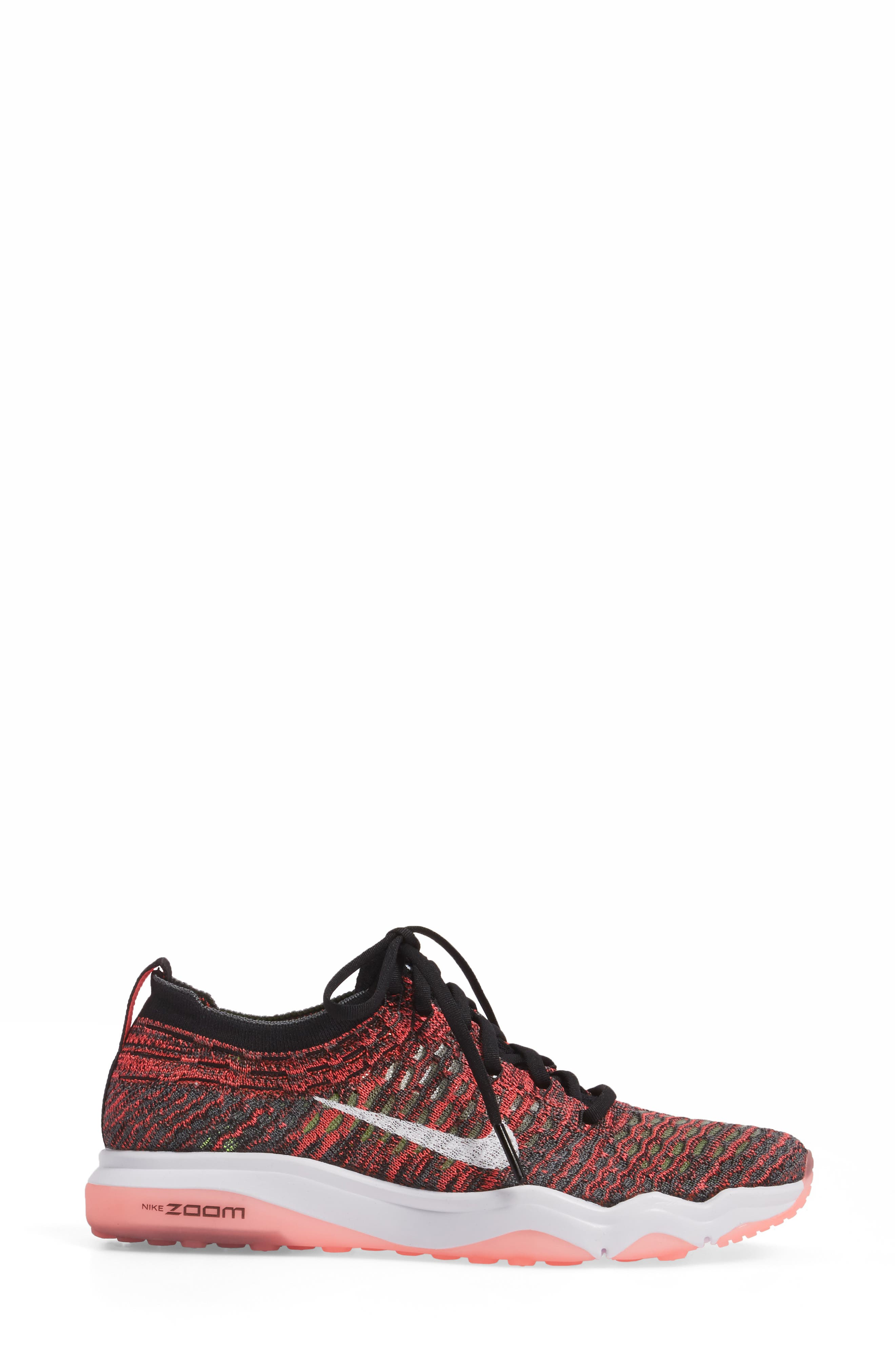 Air Zoom Fearless Flyknit Training Shoe,                             Alternate thumbnail 23, color,