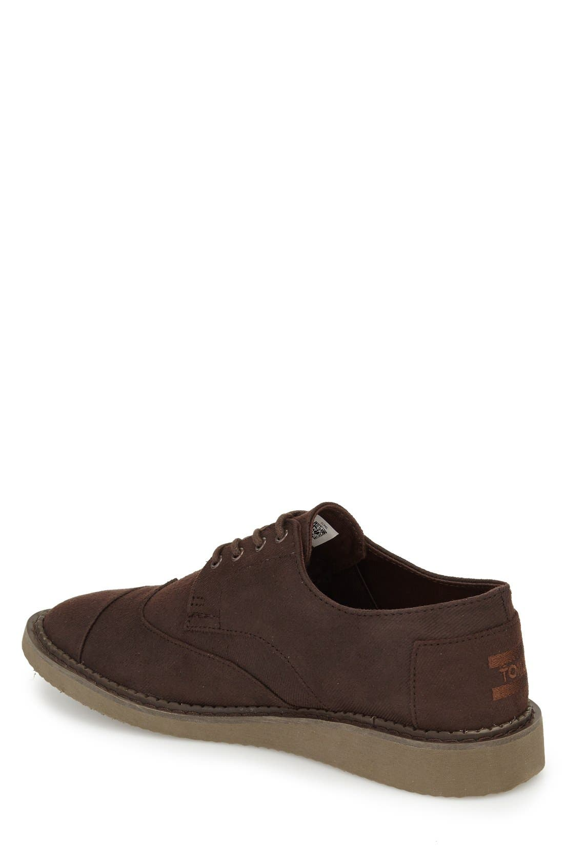 'Classic Brogue' Cotton Twill Derby,                             Alternate thumbnail 40, color,