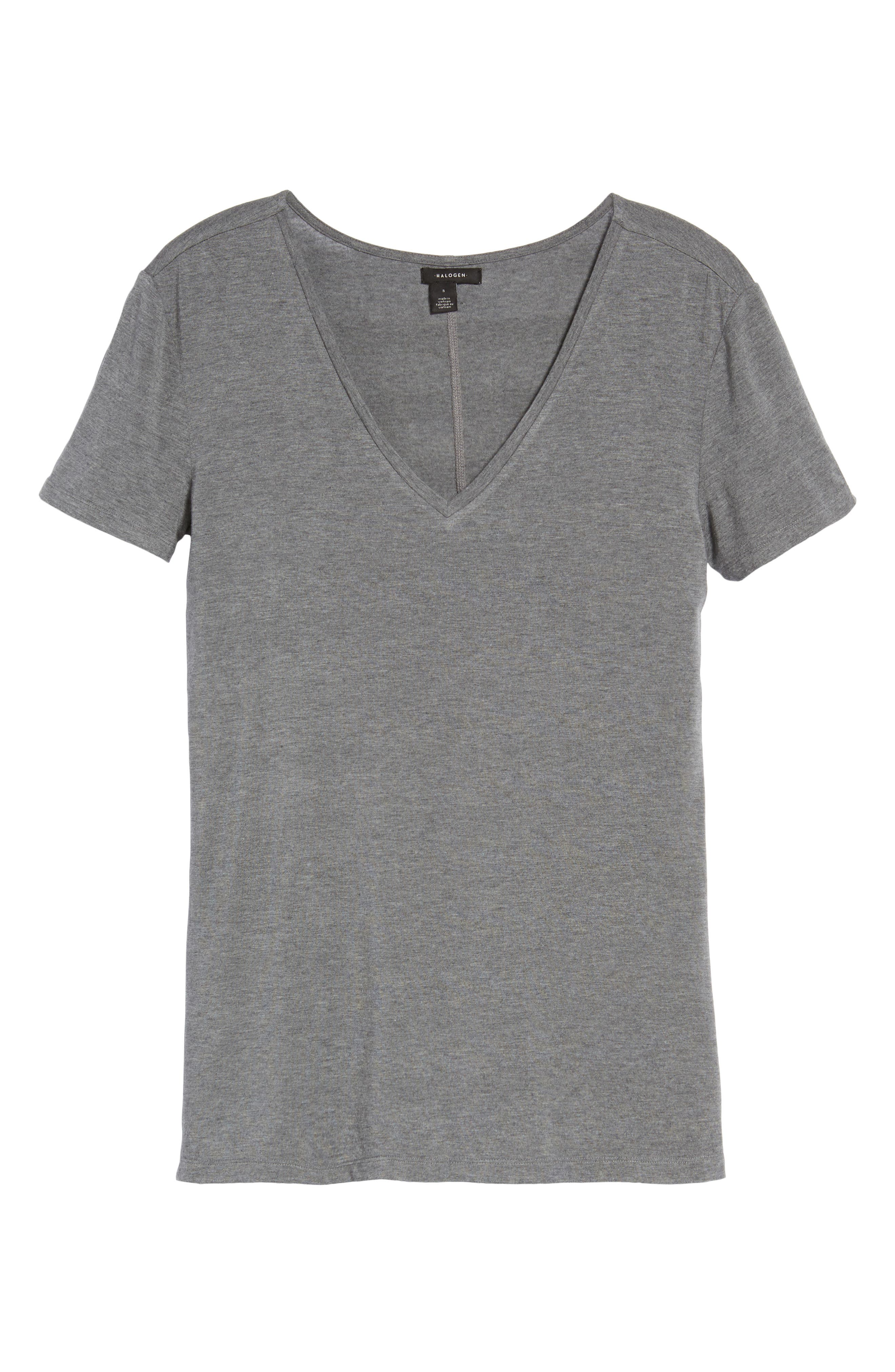 V-Neck Tunic Tee,                             Alternate thumbnail 62, color,