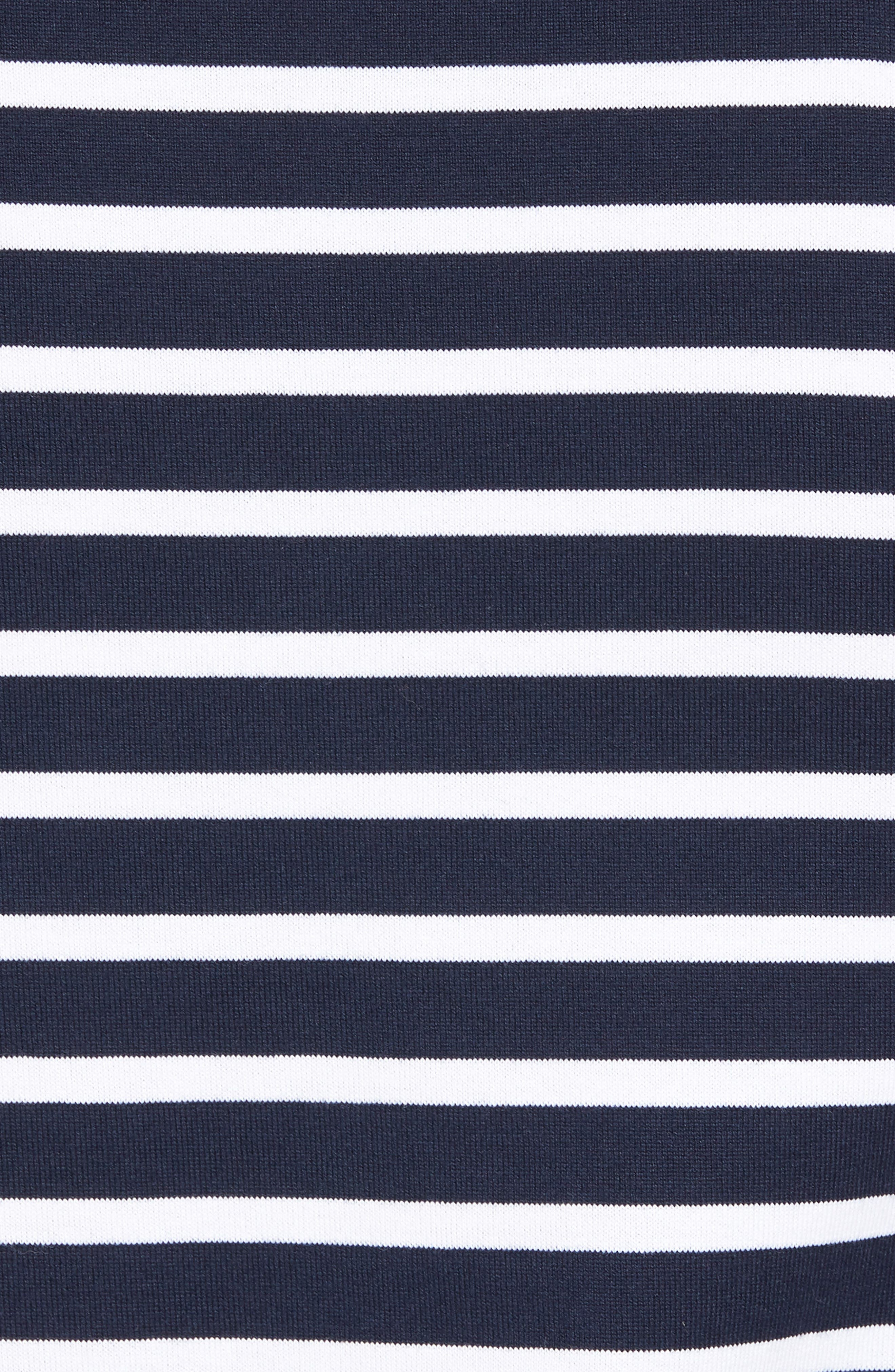Tessler Stripe Crewneck T-Shirt,                             Alternate thumbnail 5, color,                             410