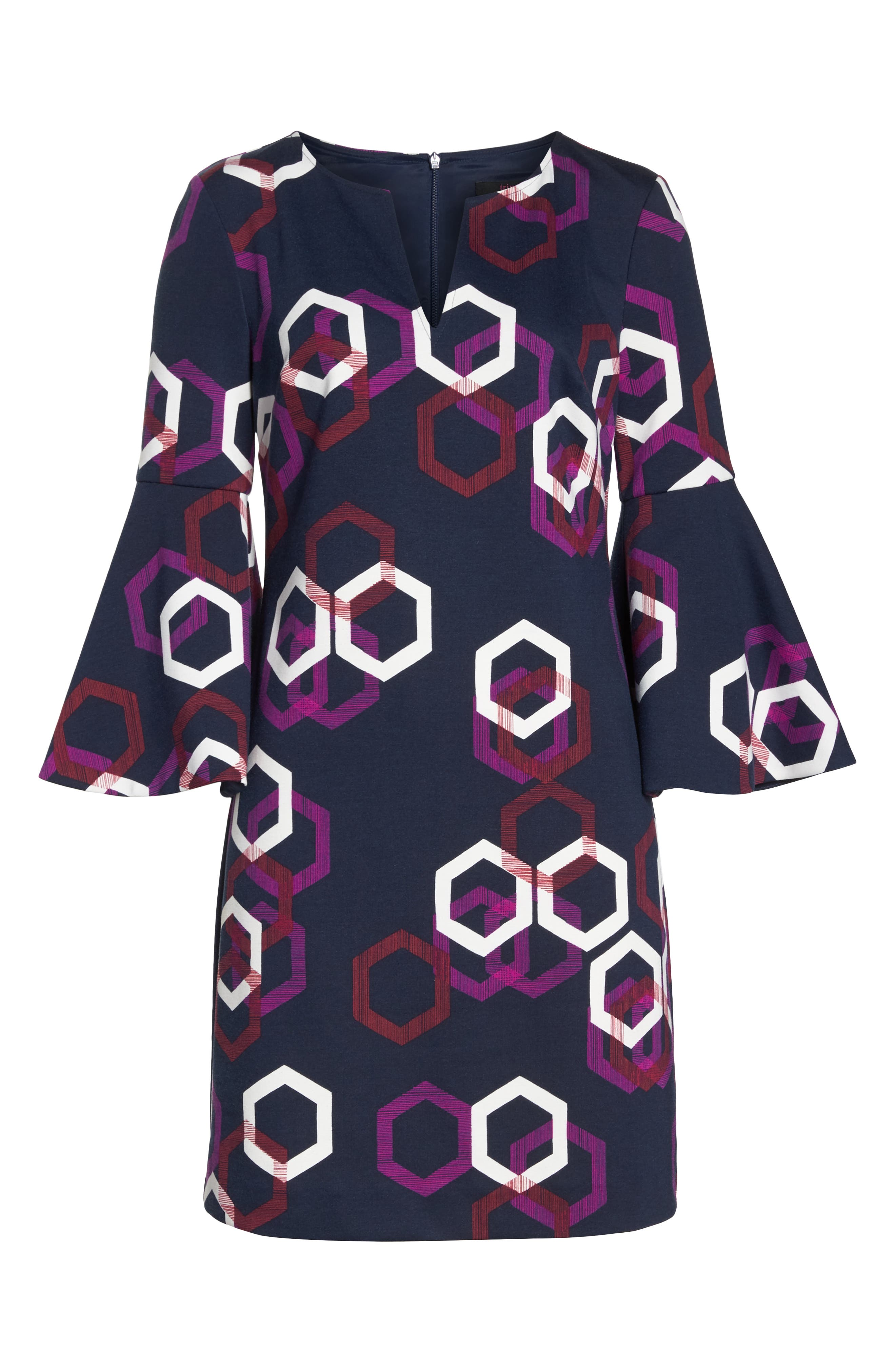 Pali Hexagon Dress,                             Alternate thumbnail 6, color,                             MULTI