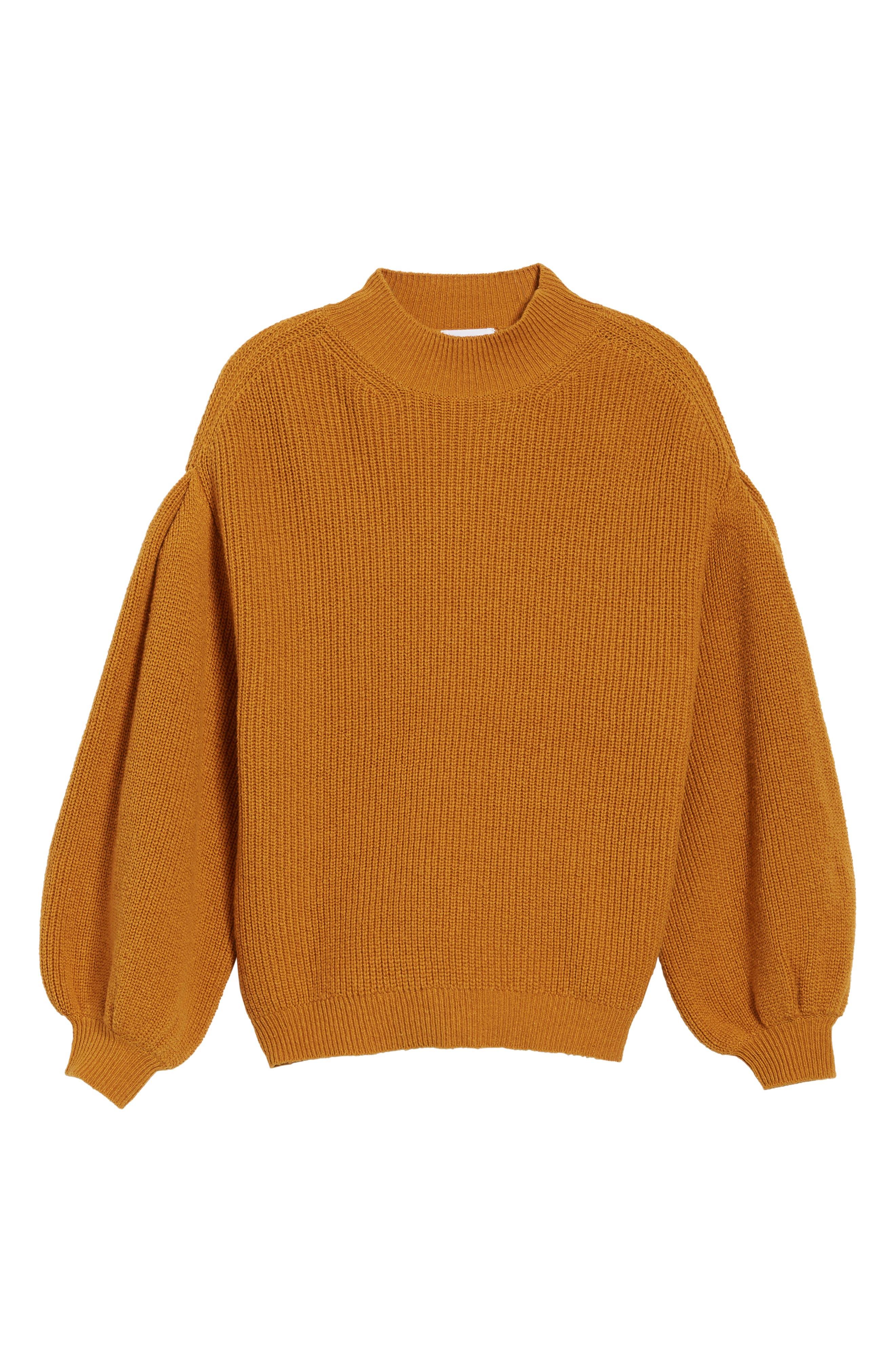 Blouson Sleeve Sweater,                             Alternate thumbnail 27, color,