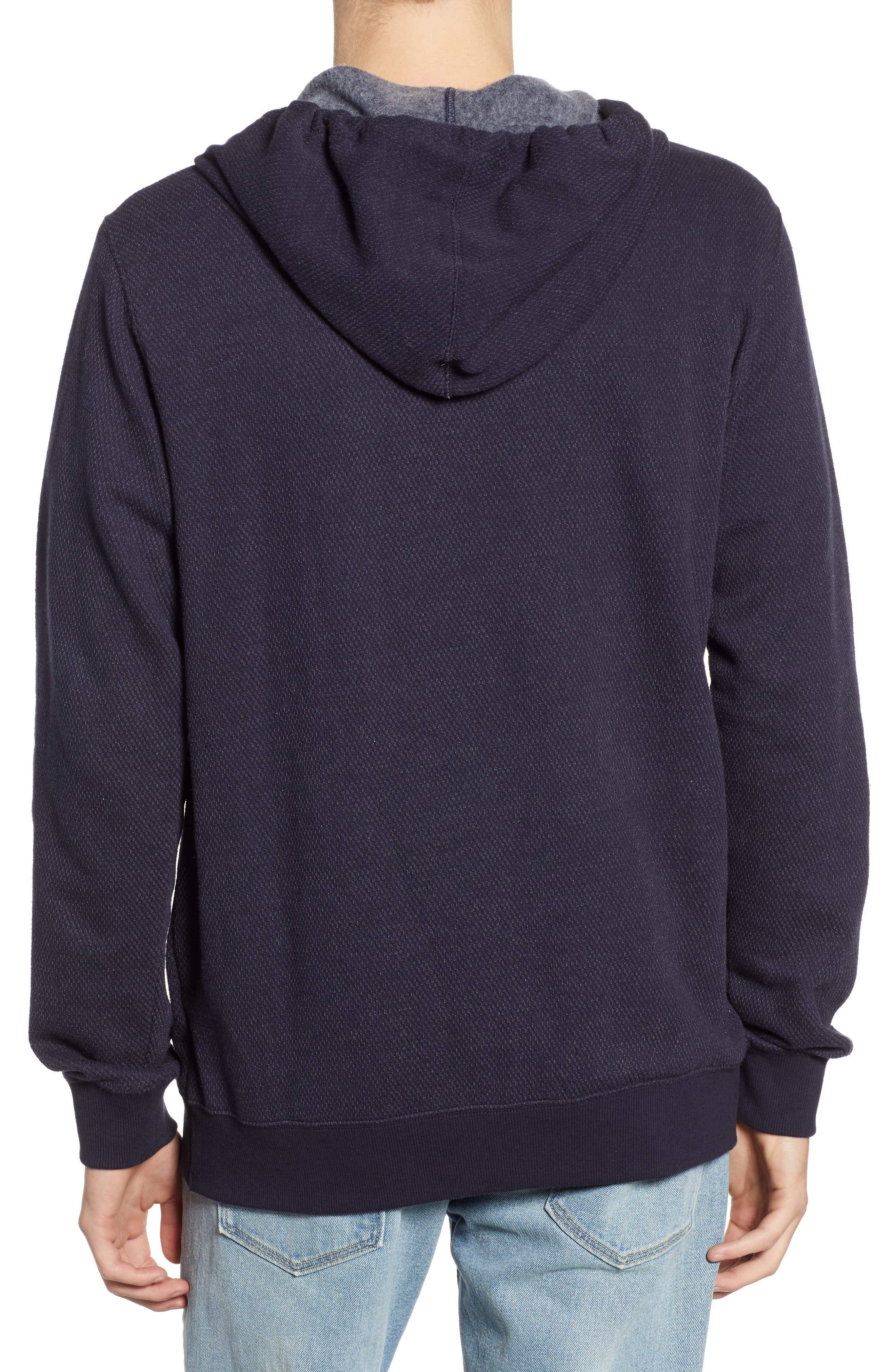 Lupo Pullover Hoodie,                             Alternate thumbnail 2, color,                             NEW NAVY