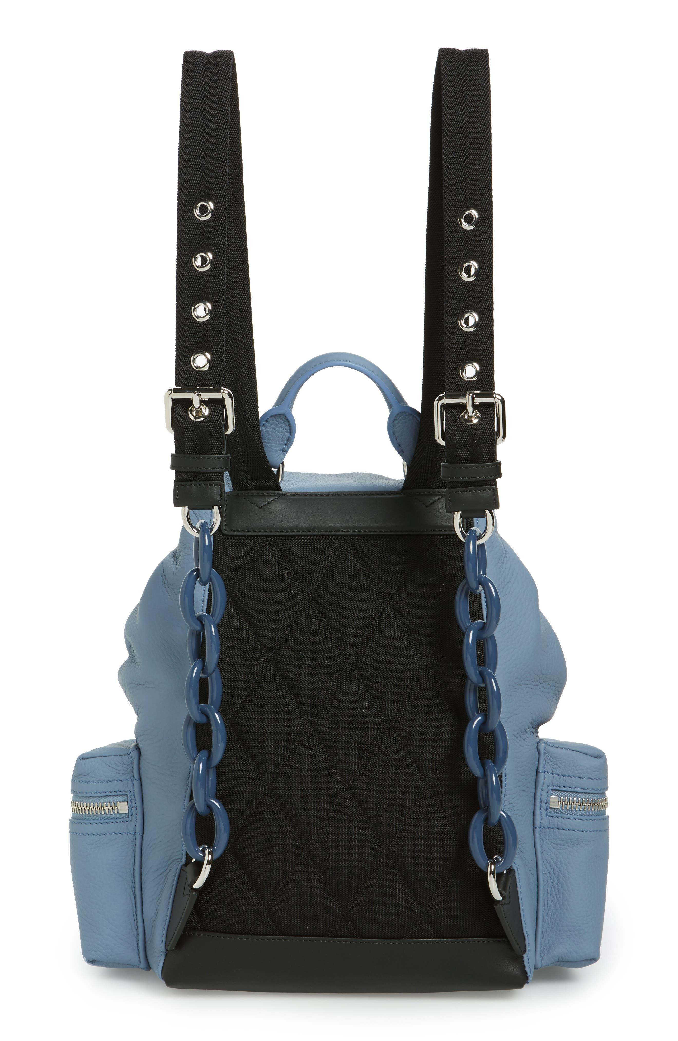 Medium Rucksack Deerskin Backpack,                             Alternate thumbnail 3, color,                             427