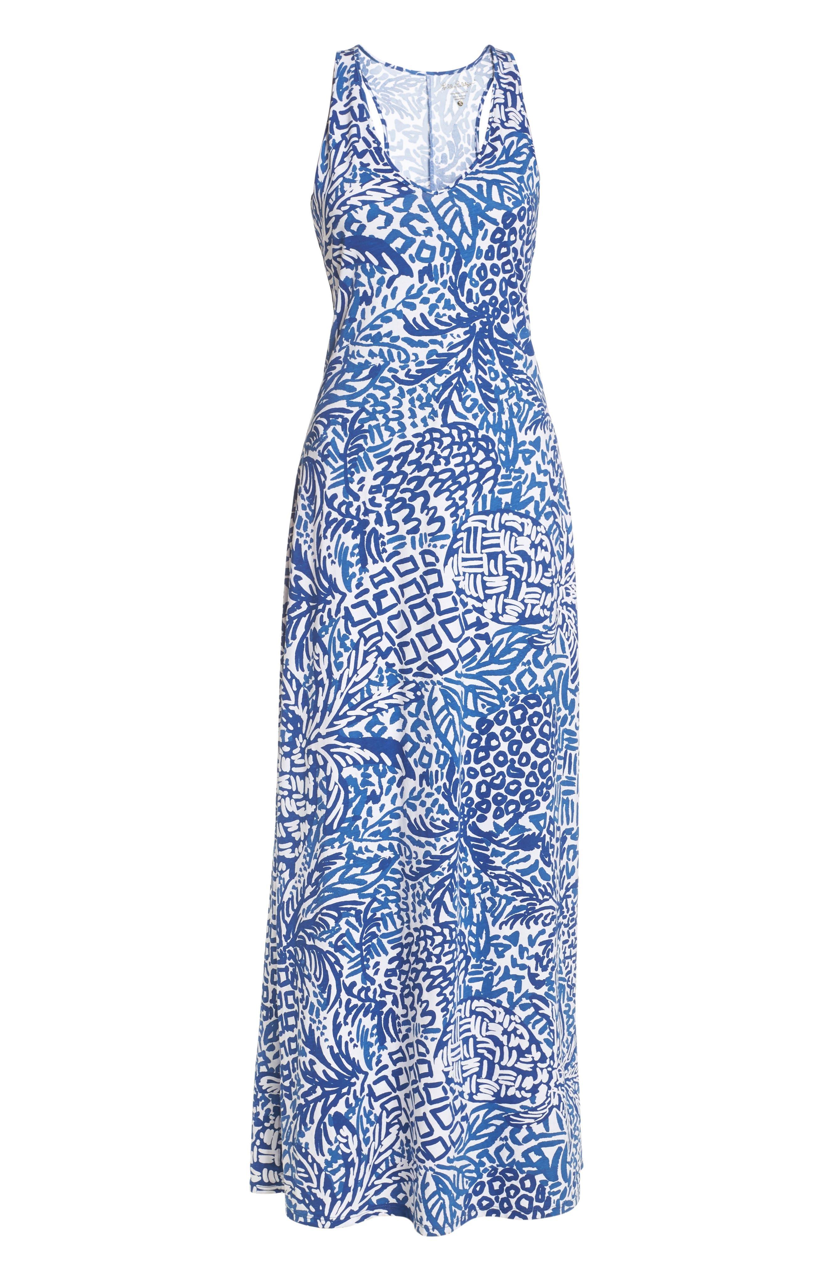 Kerri Maxi Dress,                             Alternate thumbnail 6, color,                             427