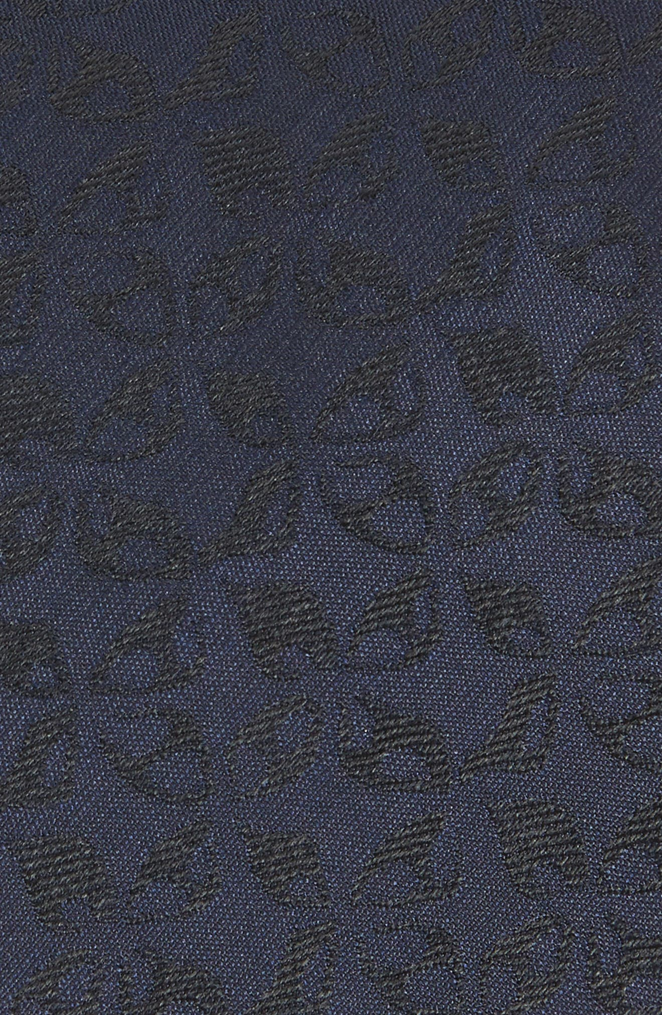 Floral Silk Tie,                             Alternate thumbnail 2, color,                             414