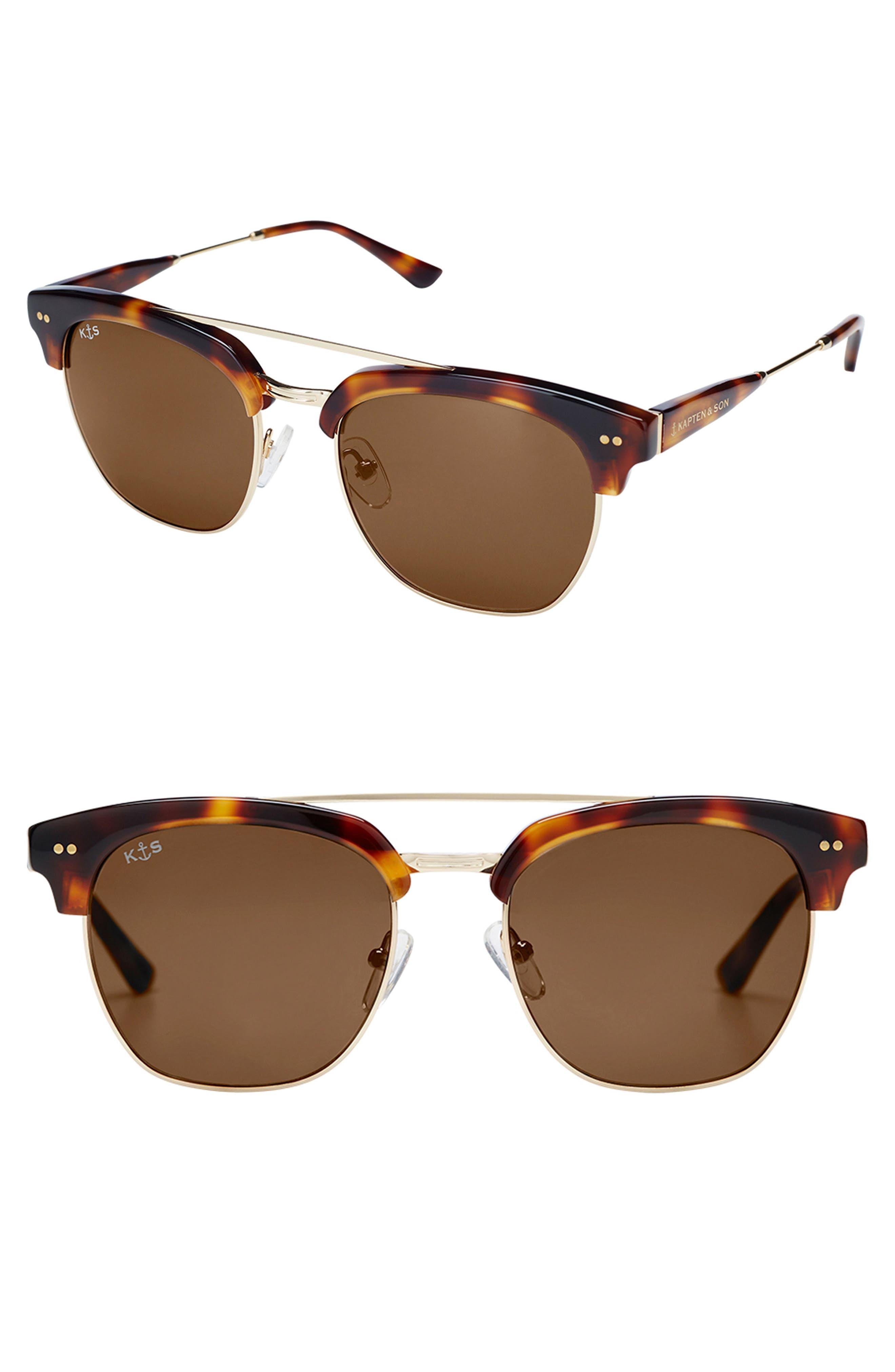 Havana 50mm Sunglasses,                             Main thumbnail 1, color,                             TORTOISE/ GRADIENT BROWN