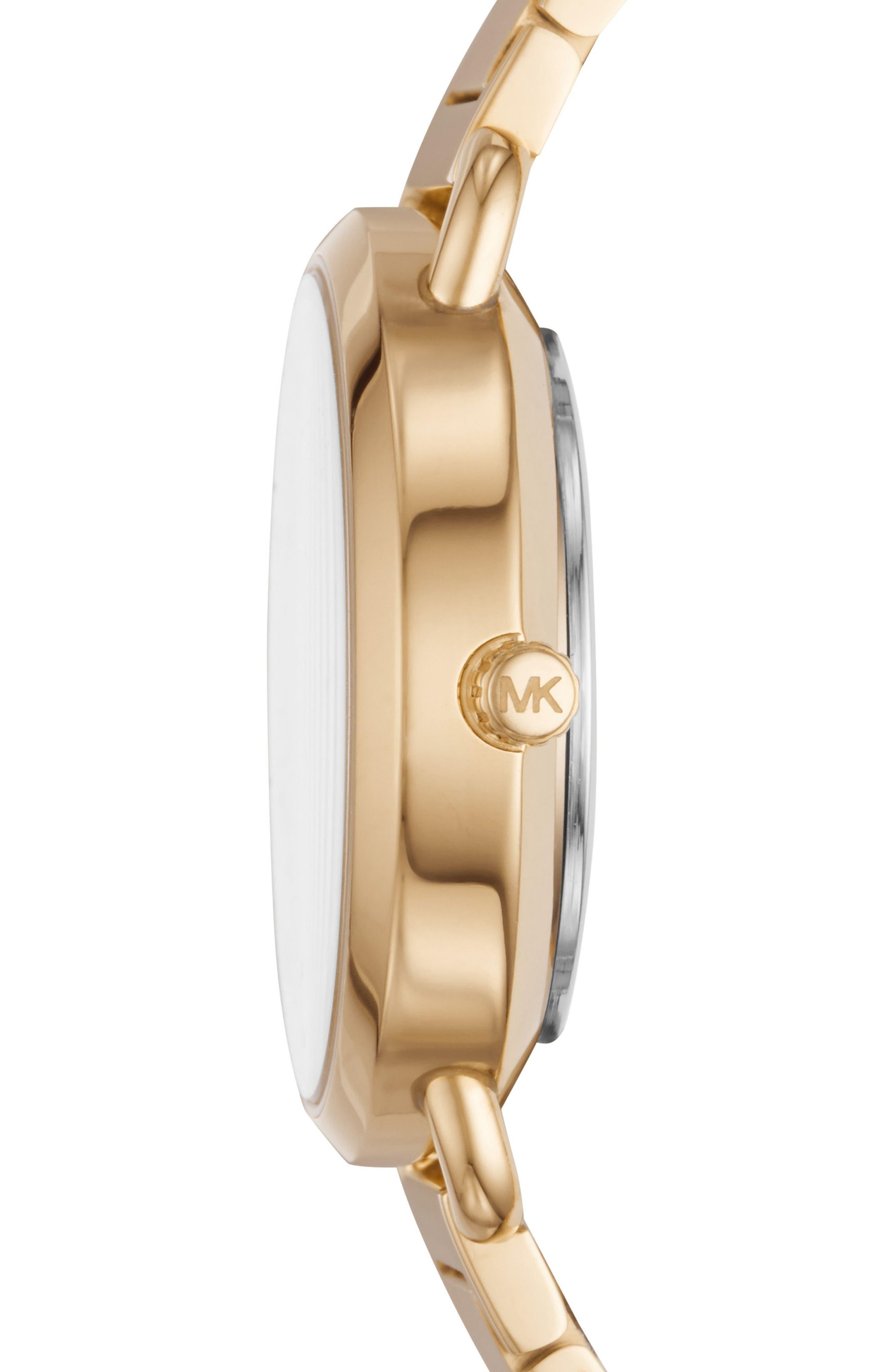 Portia Crystal Accent Bracelet Watch, 32mm,                             Alternate thumbnail 2, color,                             710