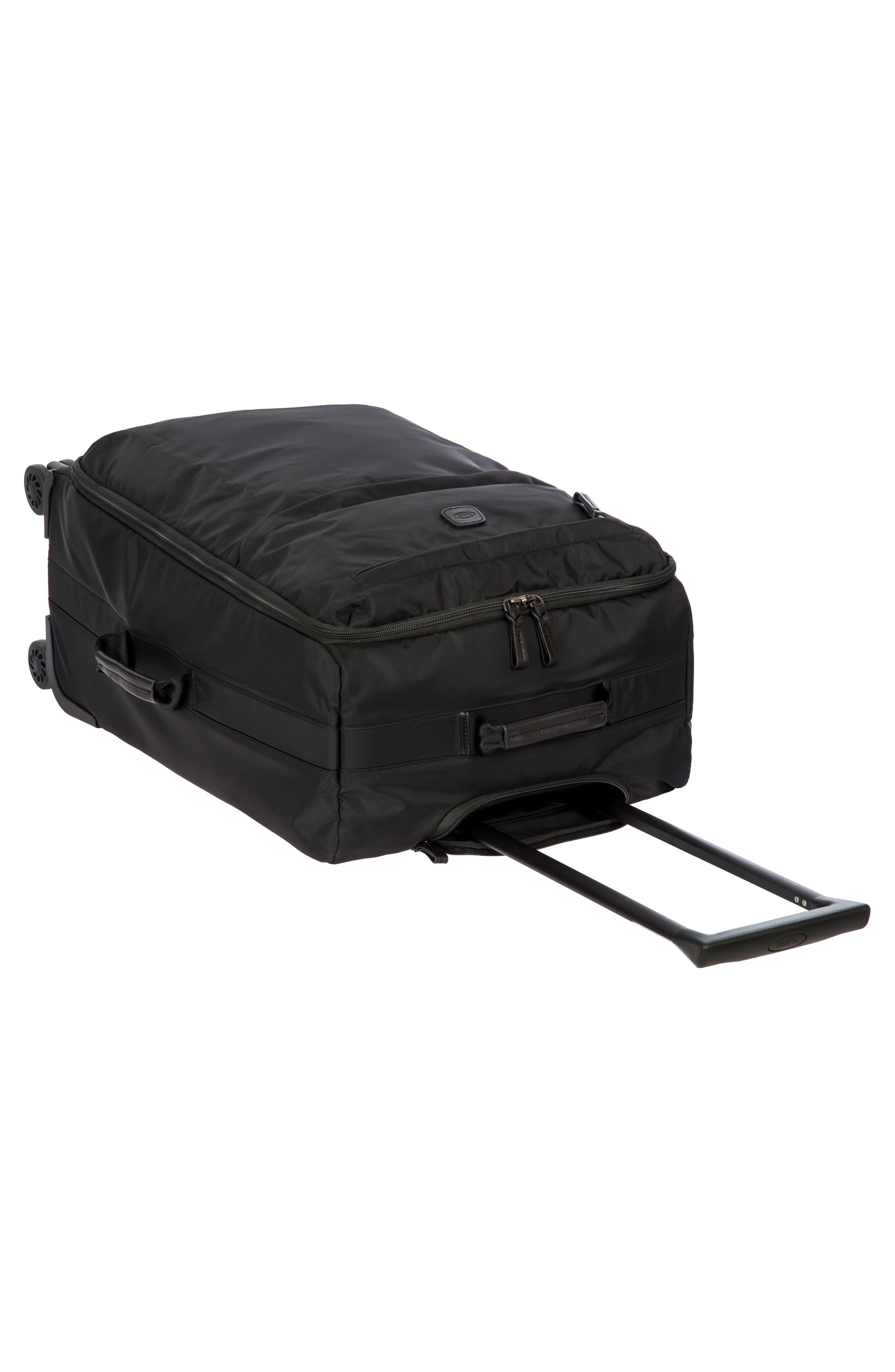 X-Bag 25-Inch Spinner Suitcase,                             Alternate thumbnail 7, color,                             BLACK/ BLACK