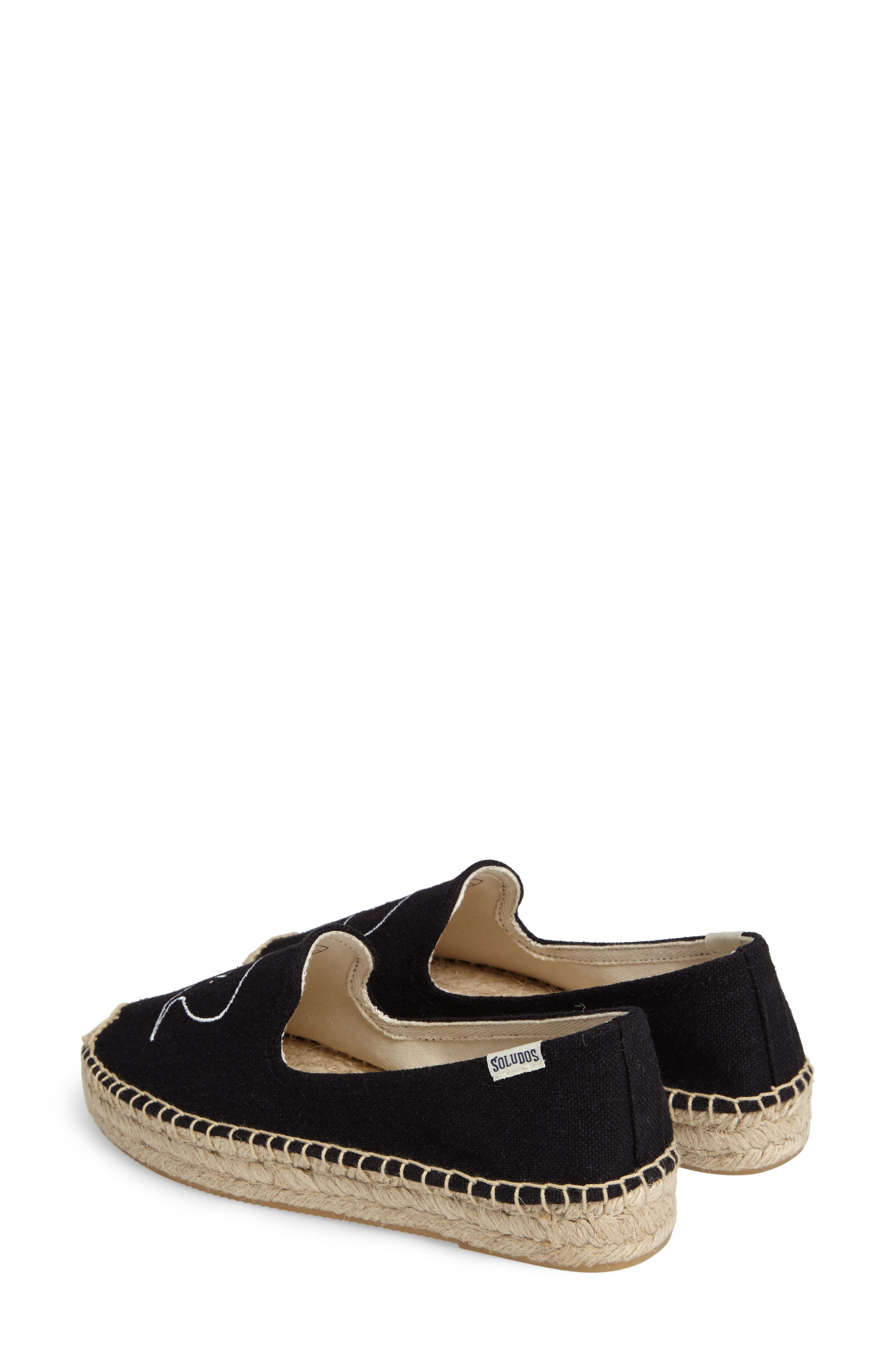 x ASHKAHN Embroidered Platform Espadrille,                             Alternate thumbnail 3, color,
