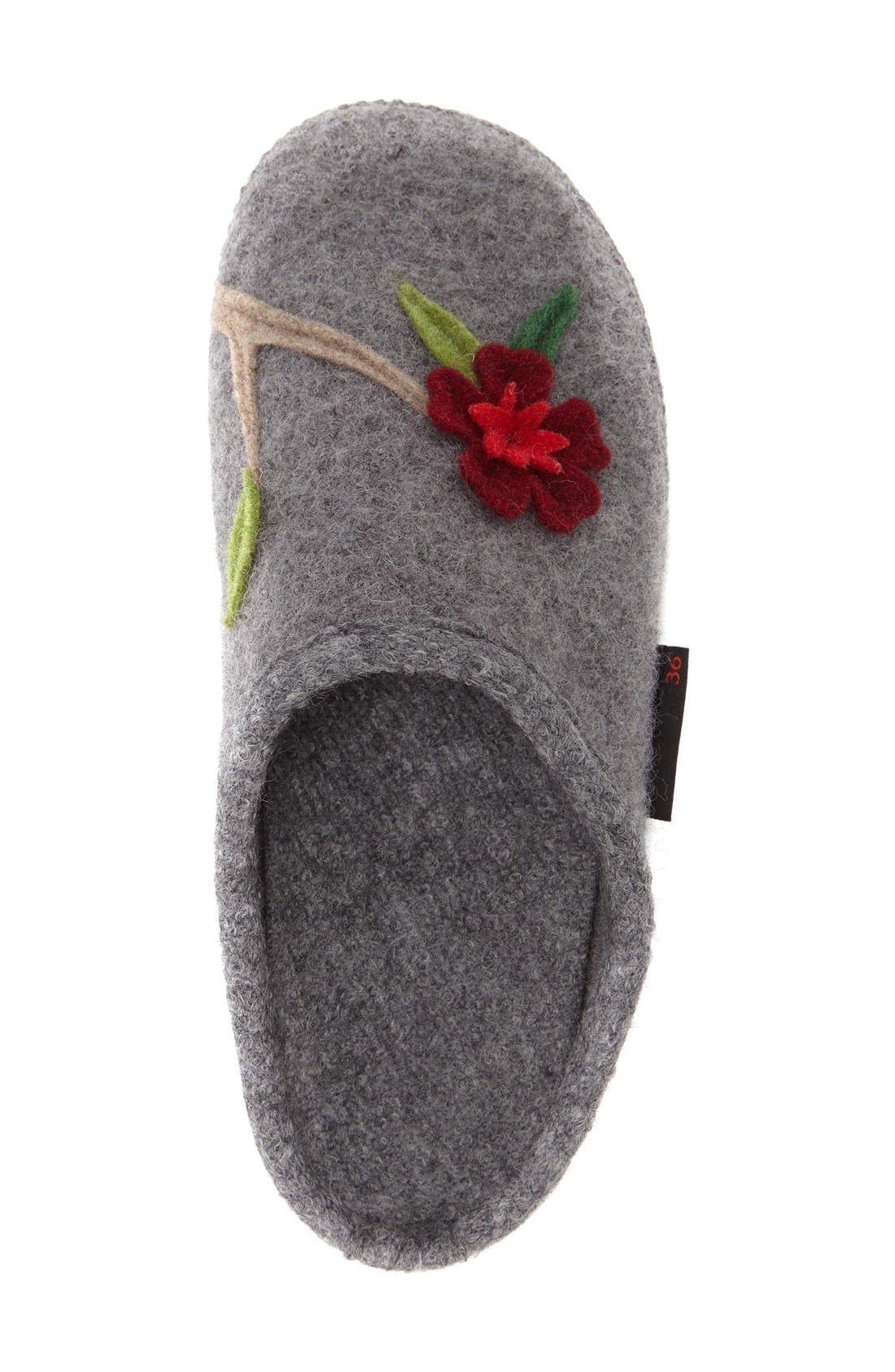 'Angela' Wool Slipper,                             Alternate thumbnail 9, color,