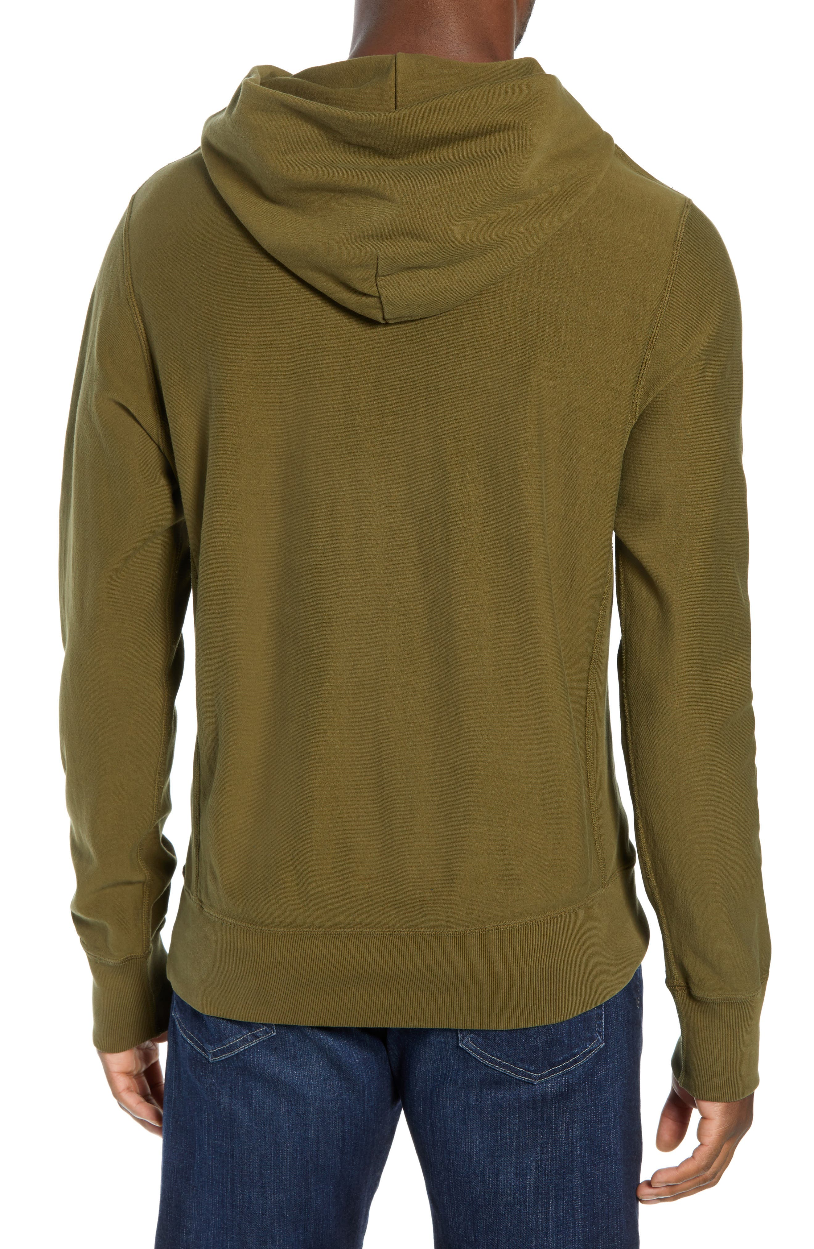Popover Hoodie,                             Alternate thumbnail 2, color,                             OLIVE