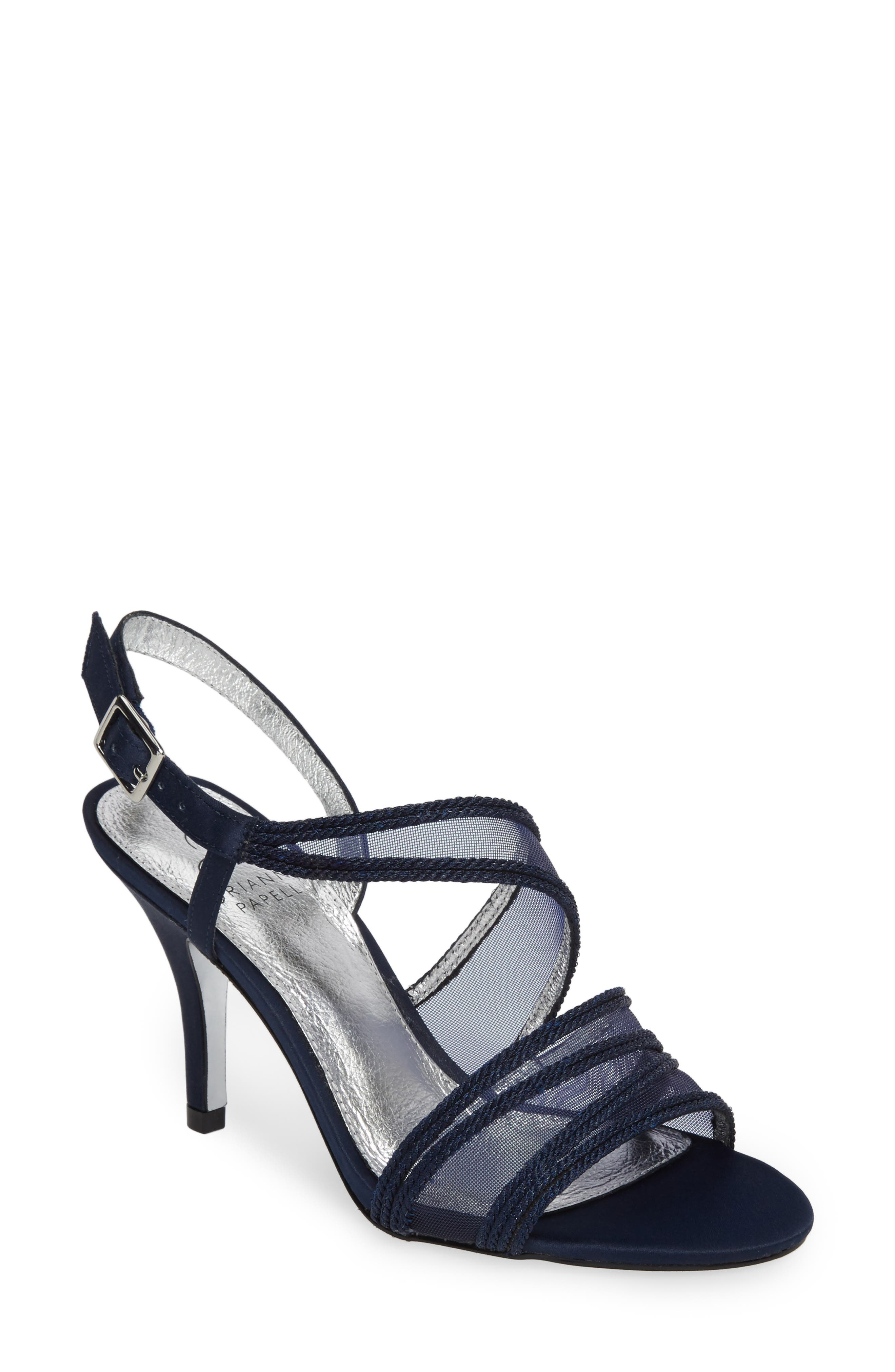 Adelphi Asymmetrical Mesh Sandal,                             Main thumbnail 4, color,