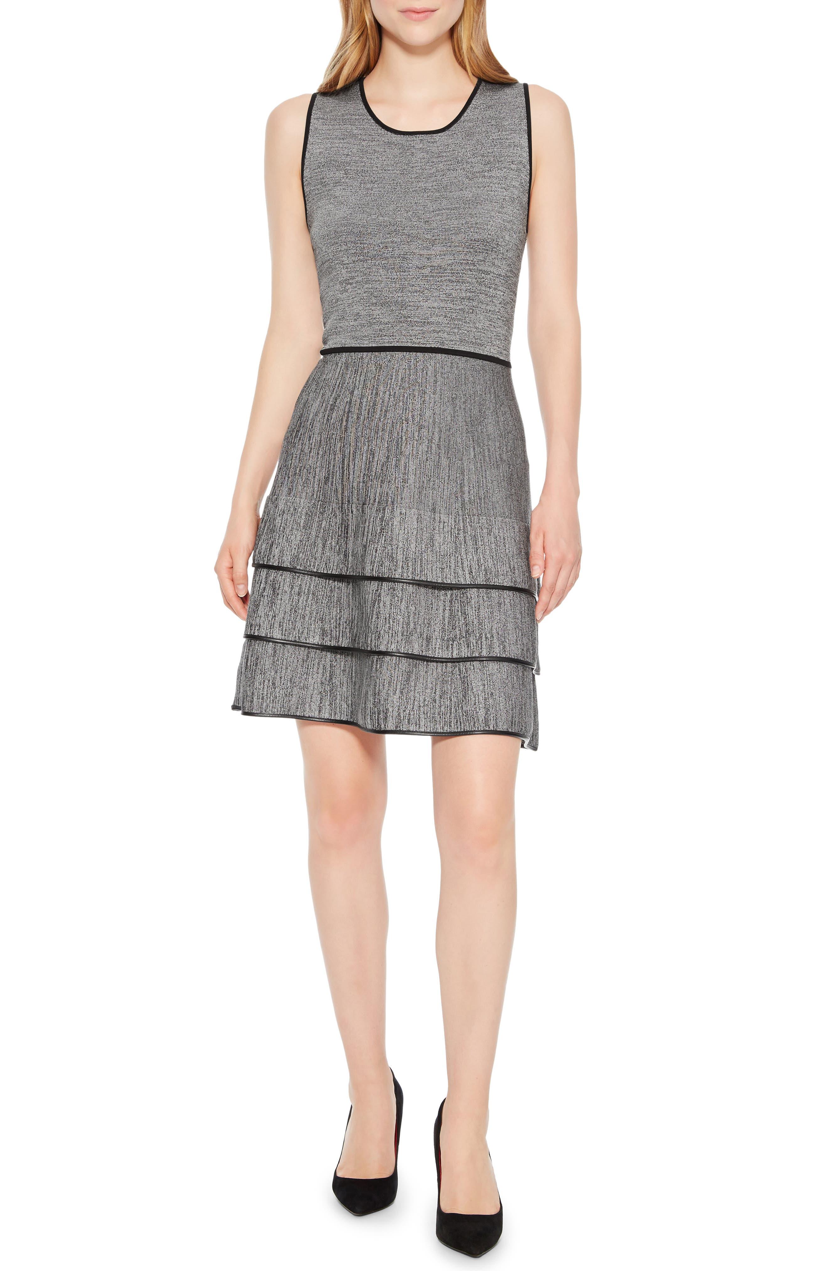 Sondra Knit Dress,                             Main thumbnail 1, color,                             005