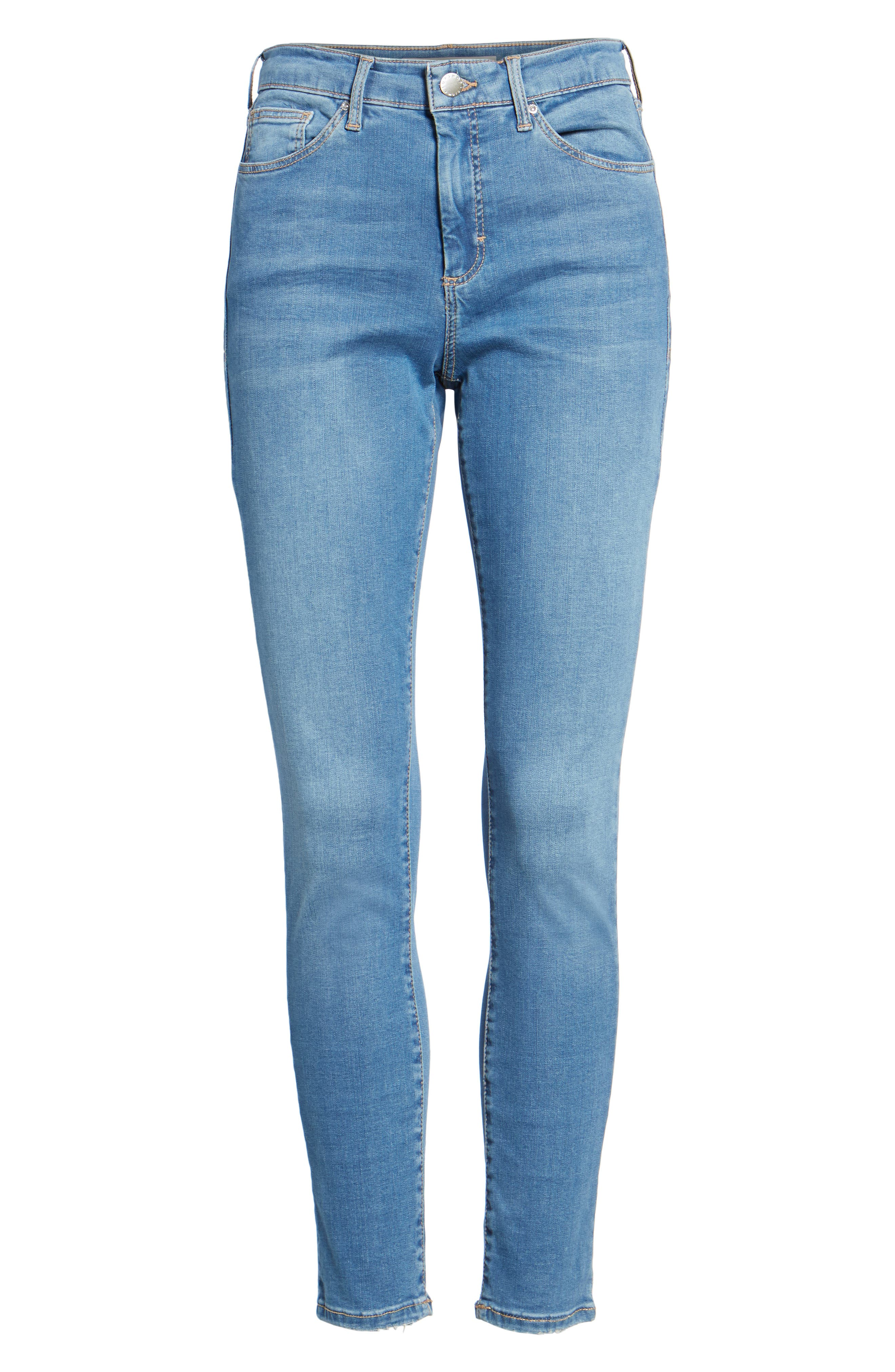 Leigh Skinny Jeans,                             Alternate thumbnail 6, color,                             400