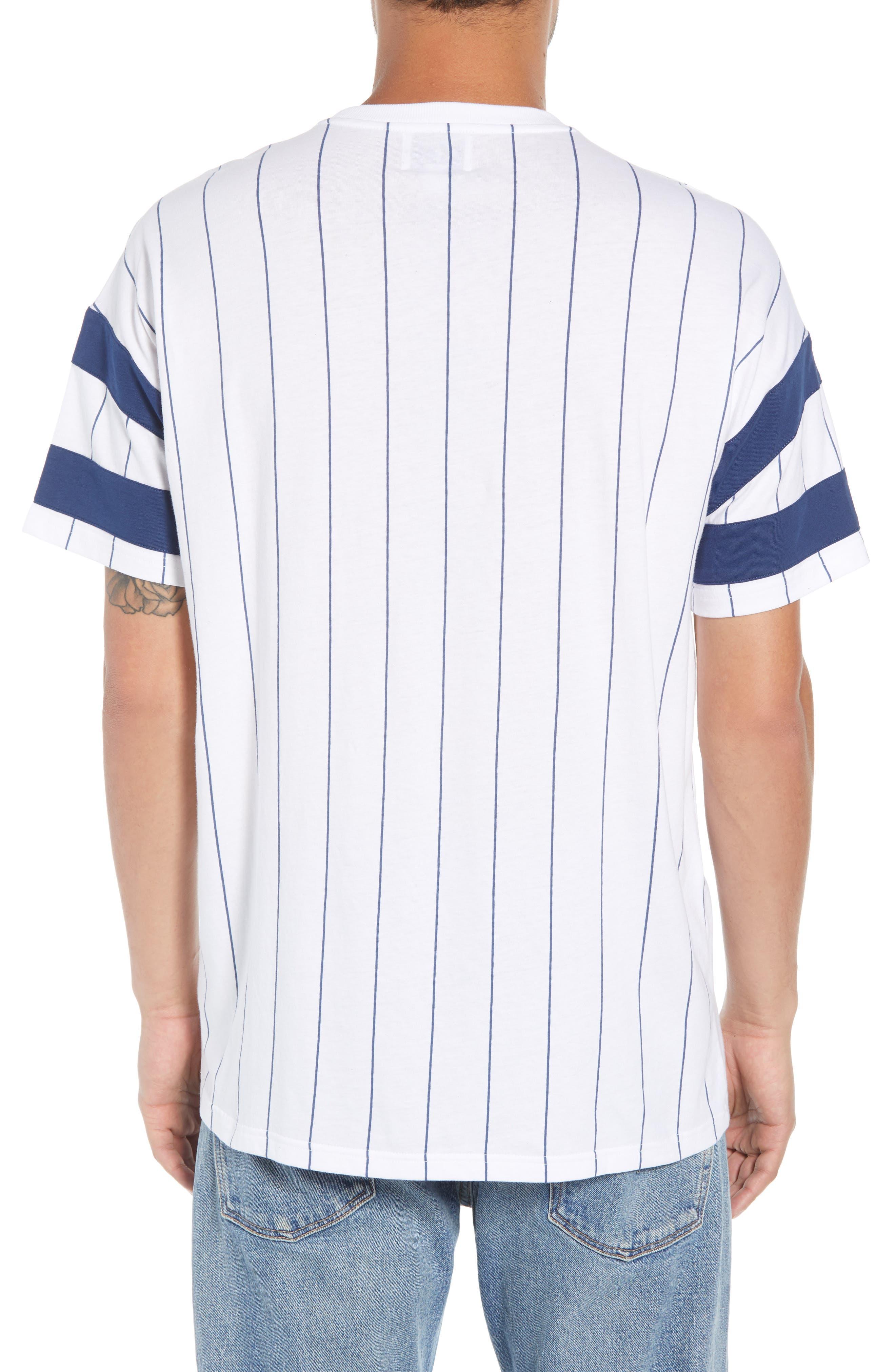 Logo Graphic Baseball T-Shirt,                             Alternate thumbnail 2, color,                             STANDARD WHITE