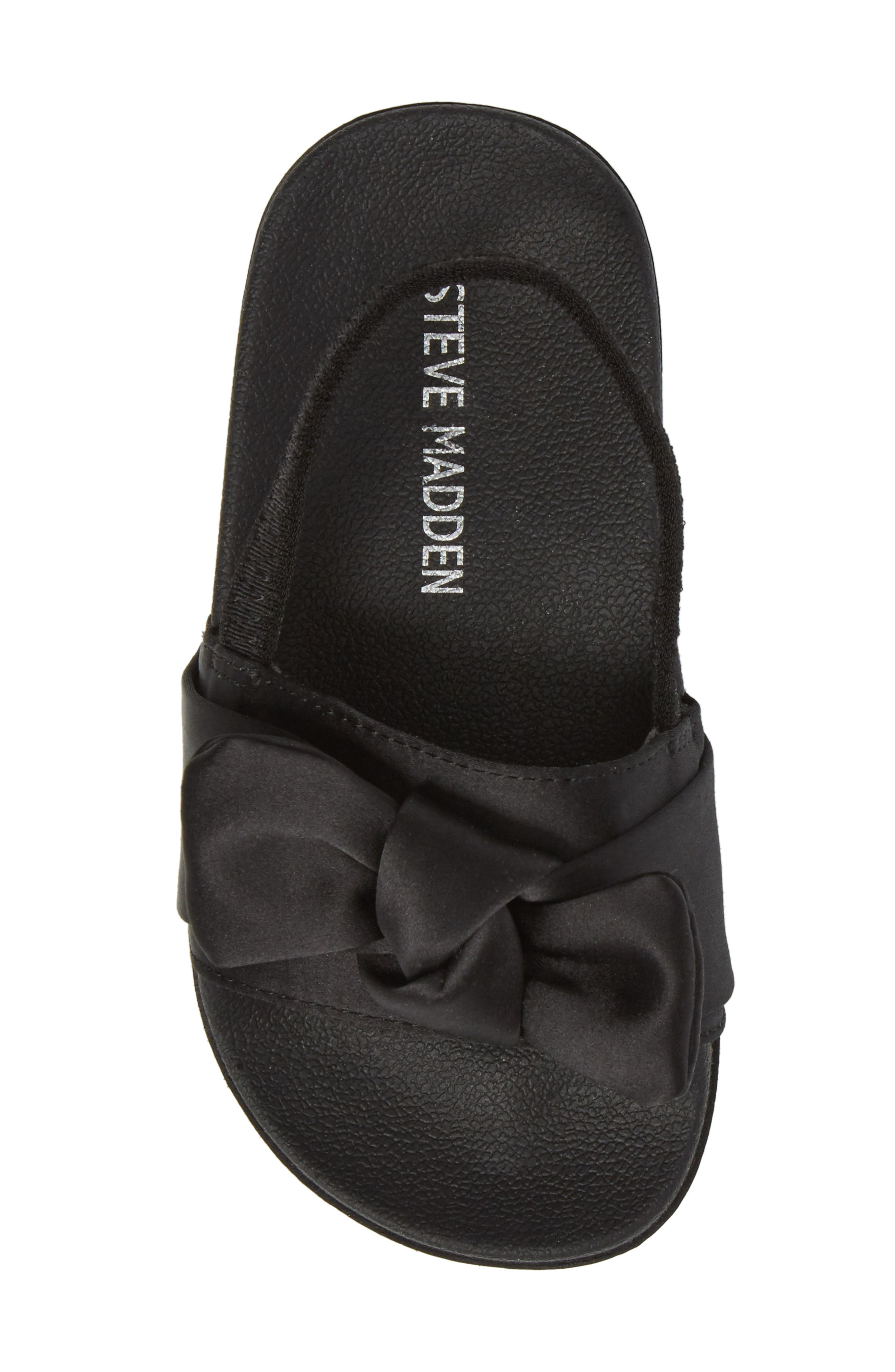 Tsilky Knotted Slide Sandal,                             Alternate thumbnail 5, color,                             007