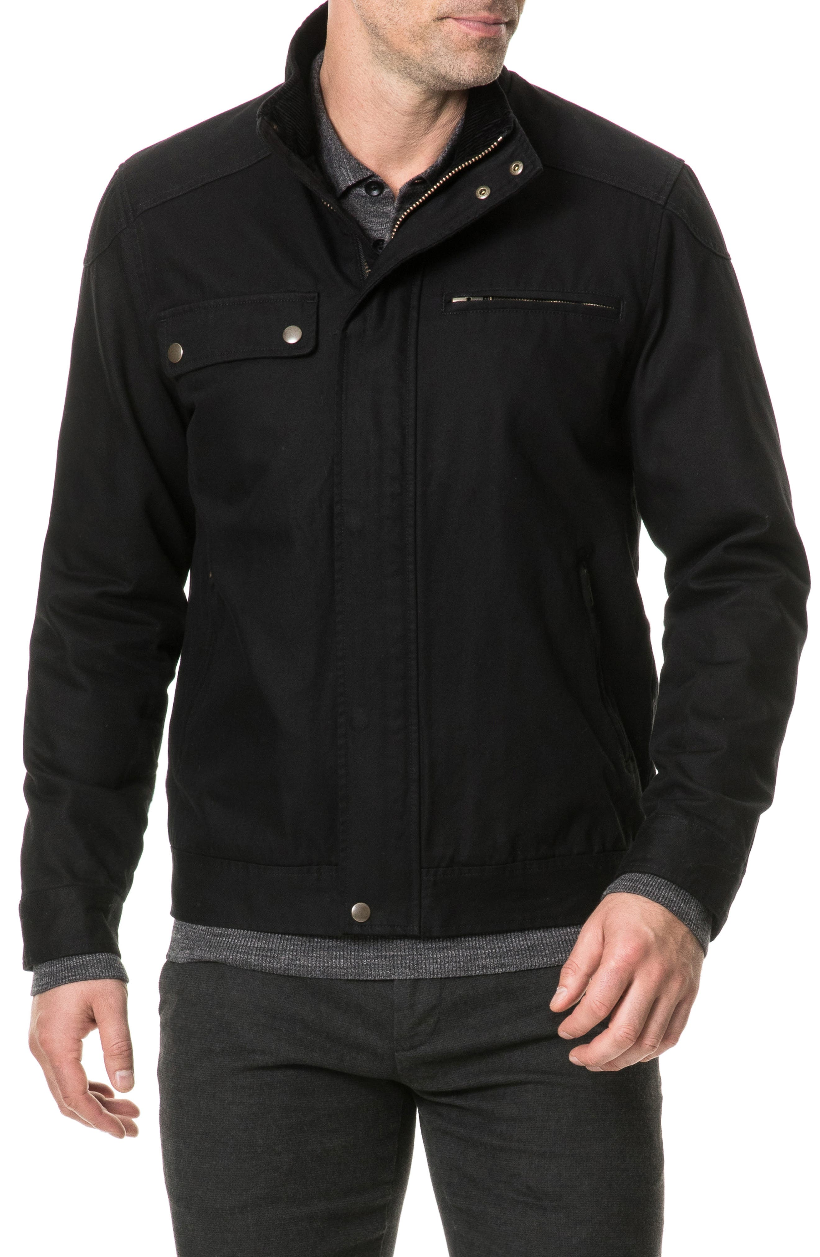 Campbell Point Jacket,                         Main,                         color, NAVY