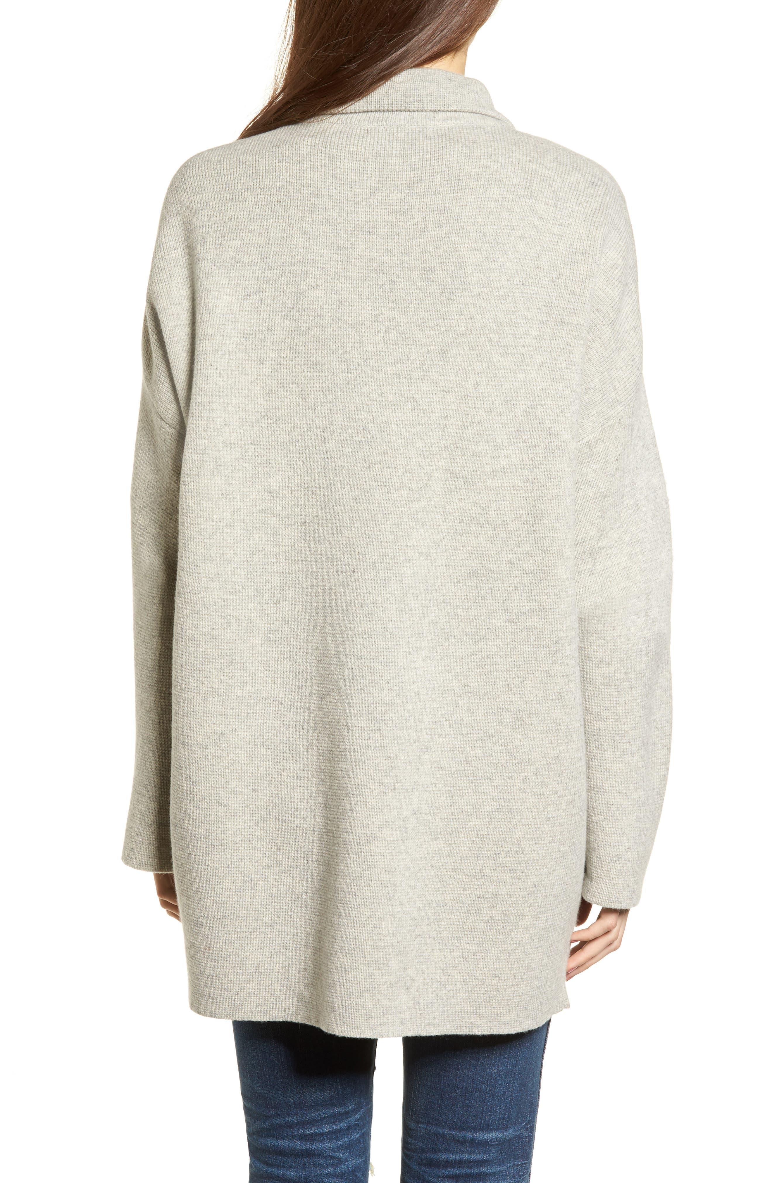 Blazer Sweater Jacket,                             Alternate thumbnail 2, color,                             020