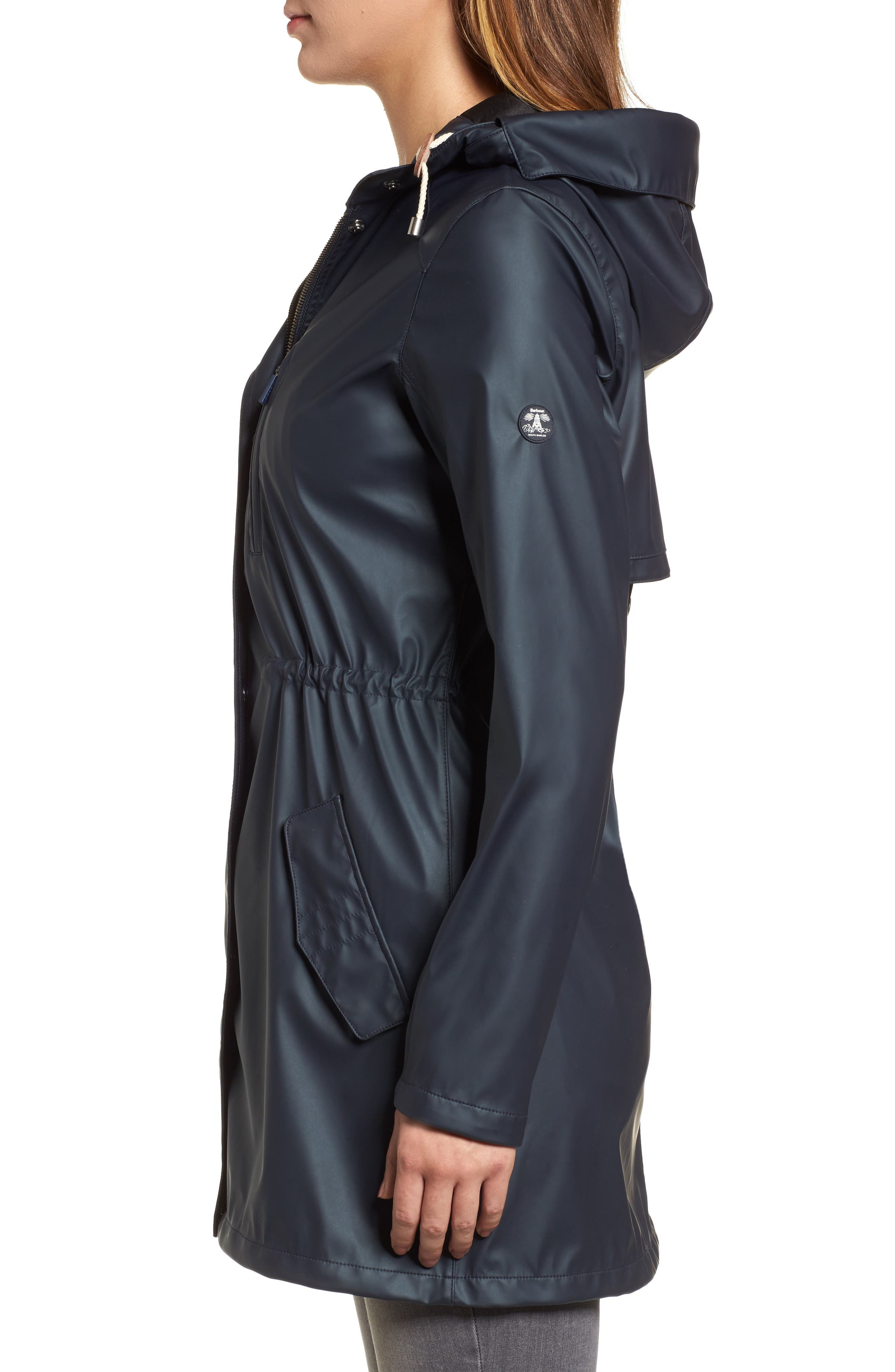 Harbour Hooded Jacket,                             Alternate thumbnail 3, color,                             410