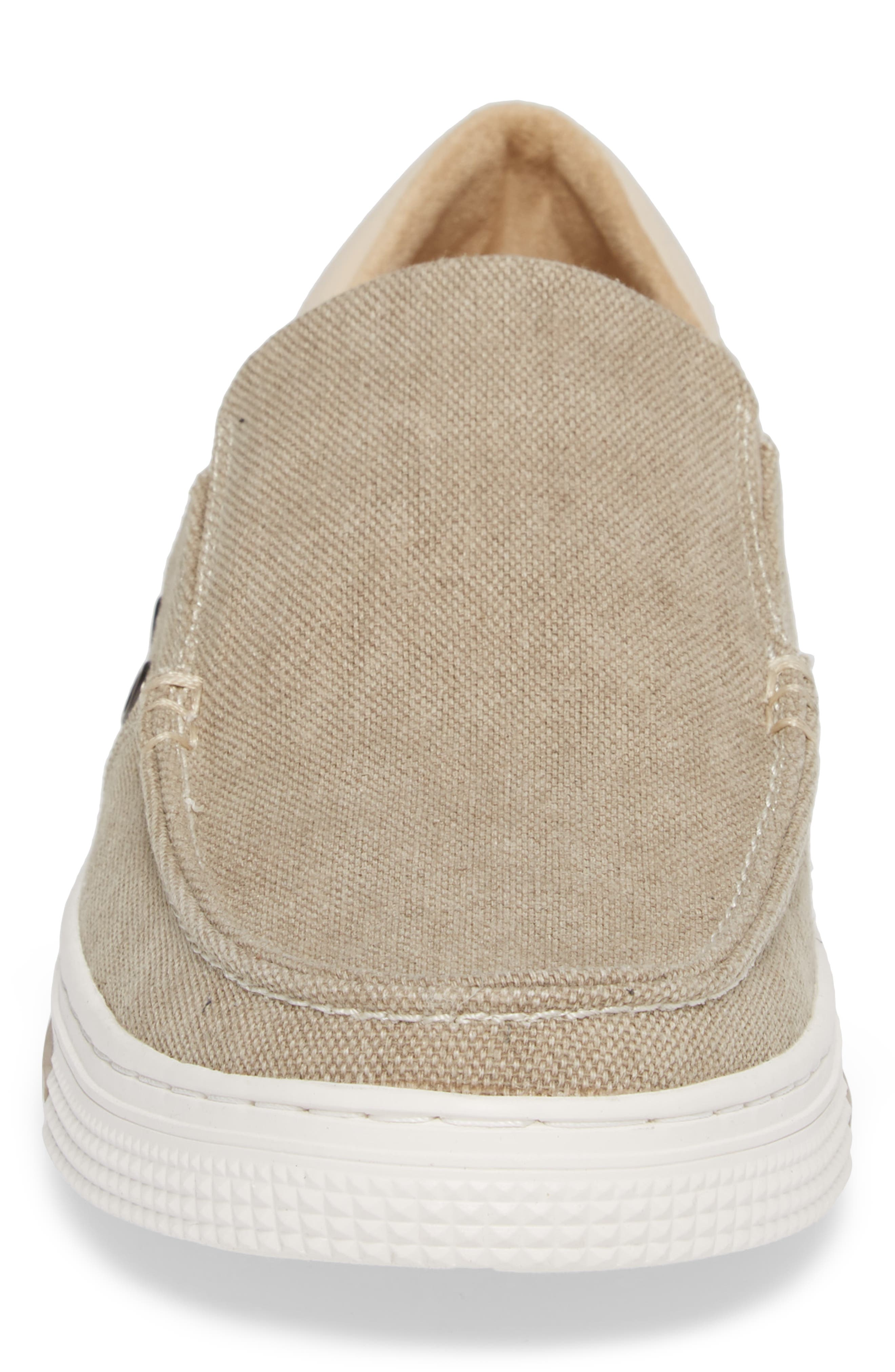 Ankir Boat Slip-On,                             Alternate thumbnail 4, color,                             SAND