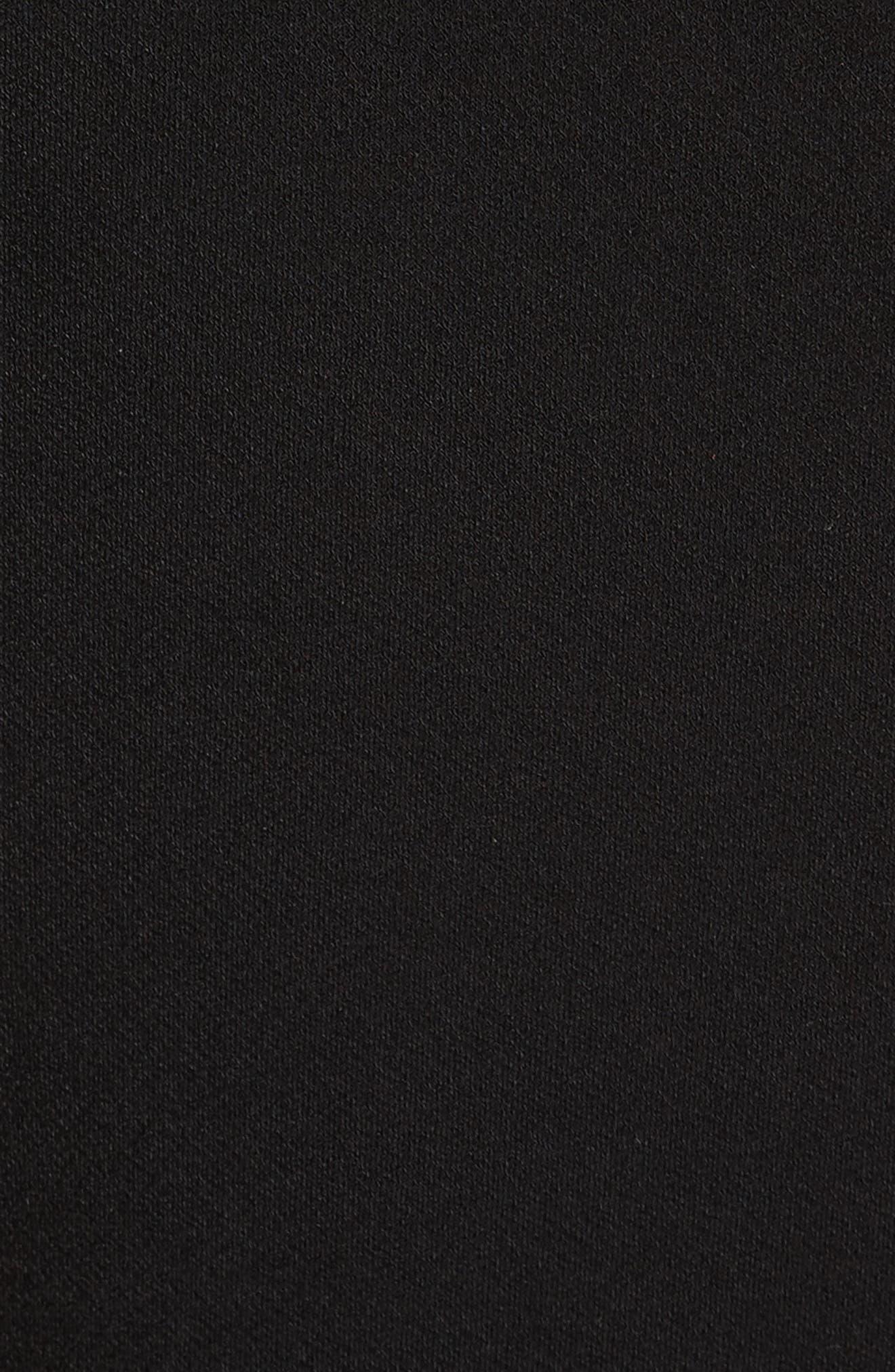 Malia Cutout One-Shoulder Maxi Dress,                             Alternate thumbnail 5, color,                             001
