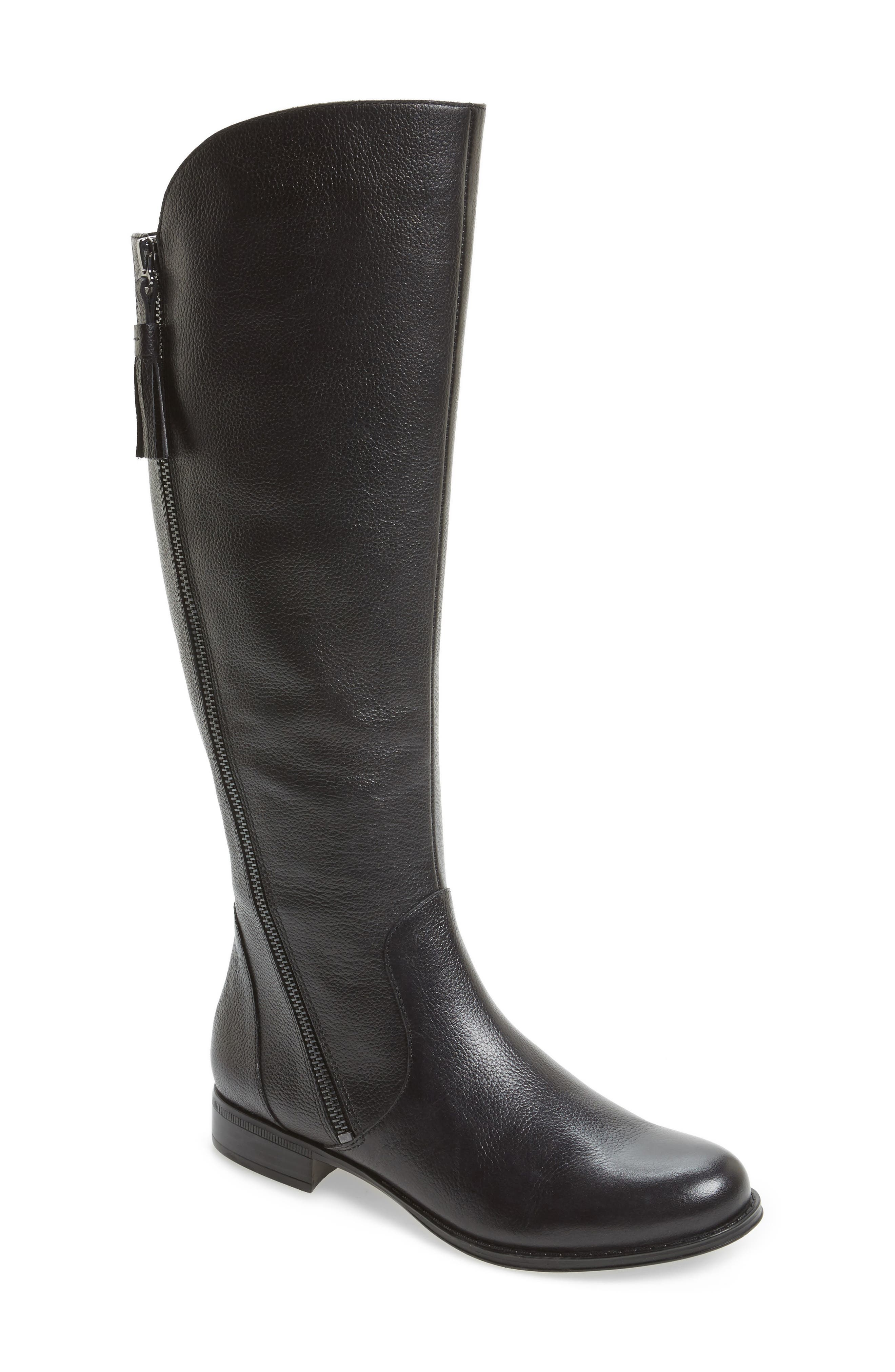 Jinnie Tall Boot,                         Main,                         color, 001