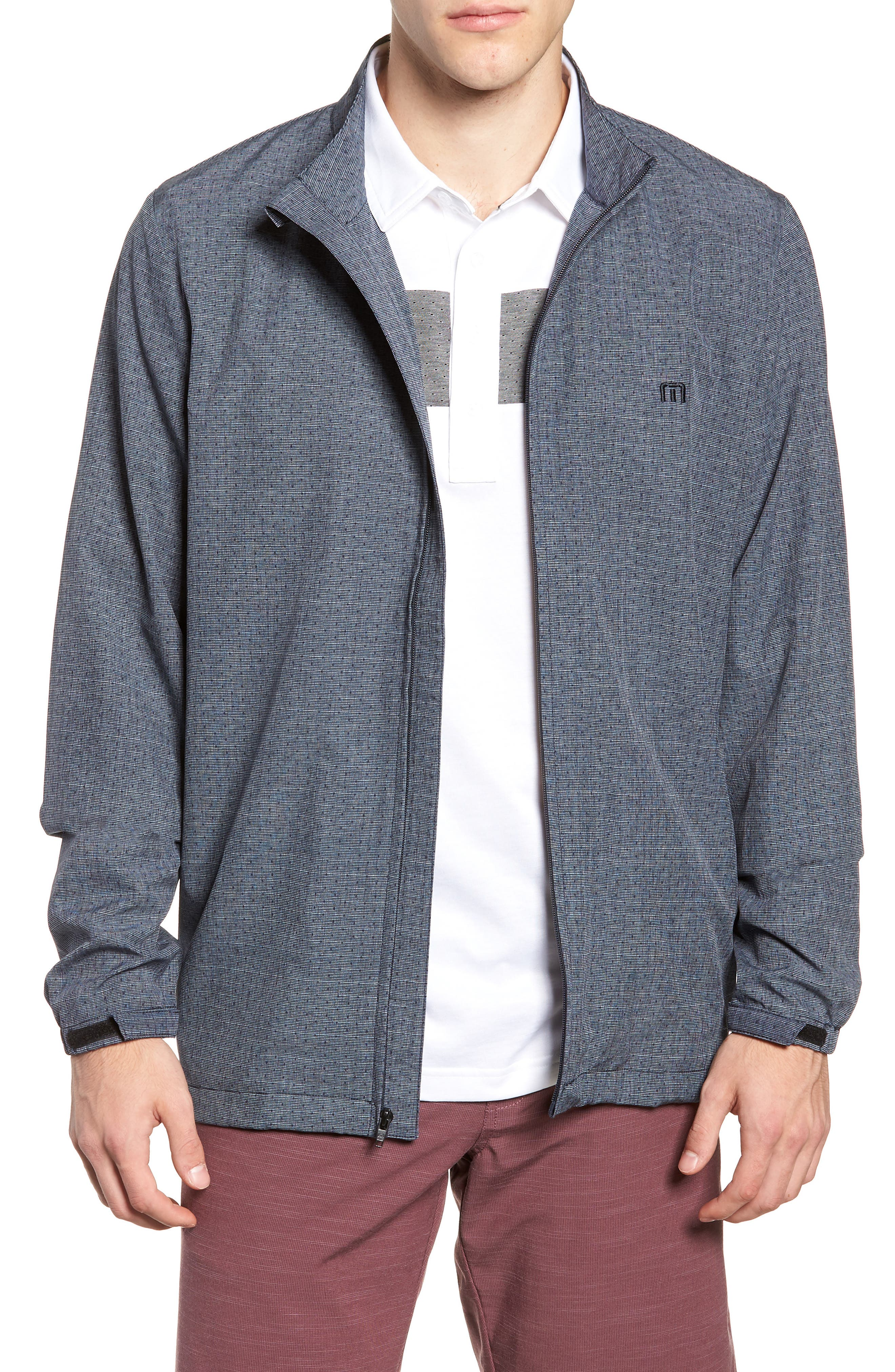 Wolf Pack Jacket,                         Main,                         color, HEATHER BLUE NIGHTS