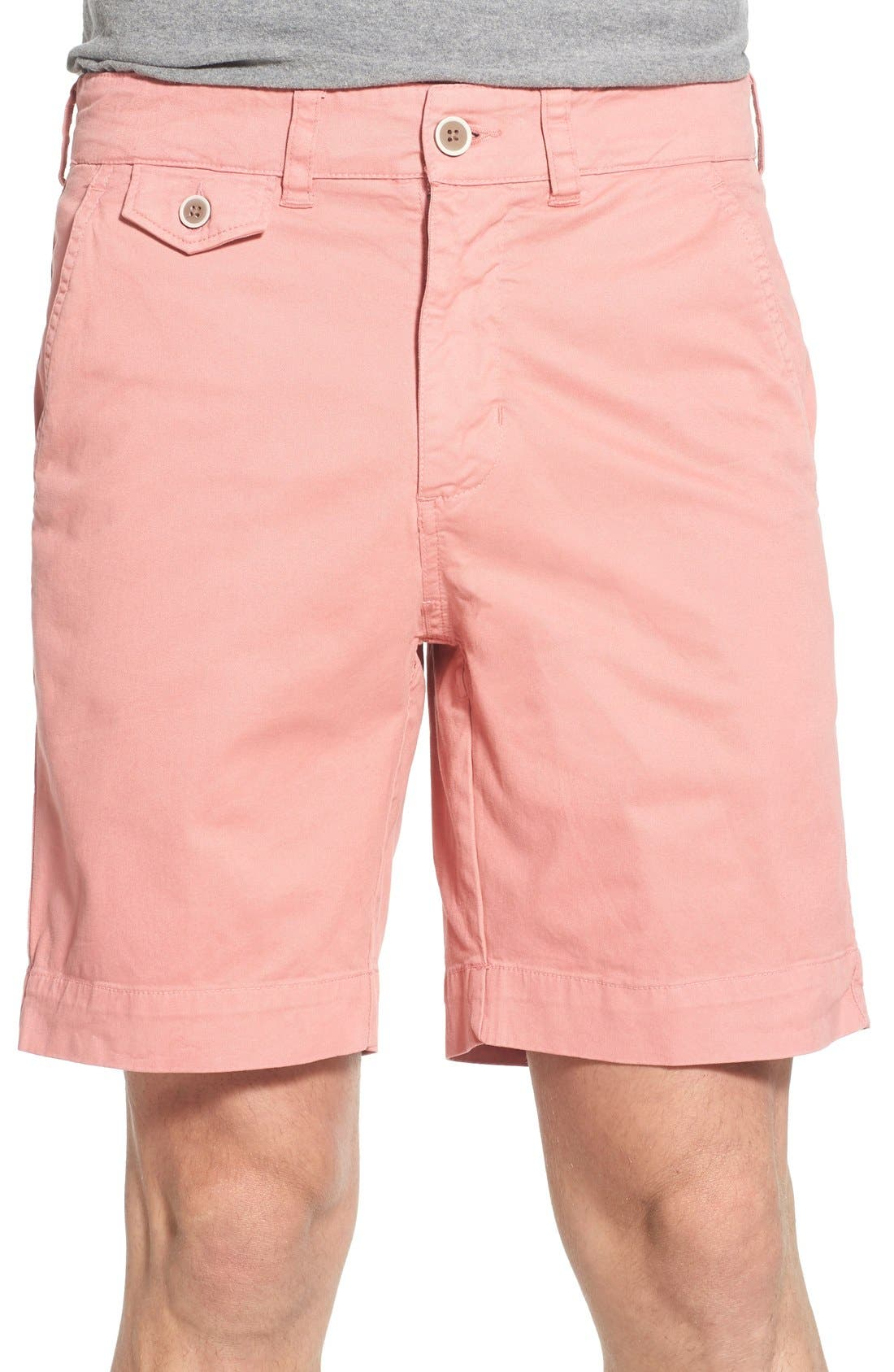 'Sunny' Stretch Chino Shorts,                             Main thumbnail 6, color,