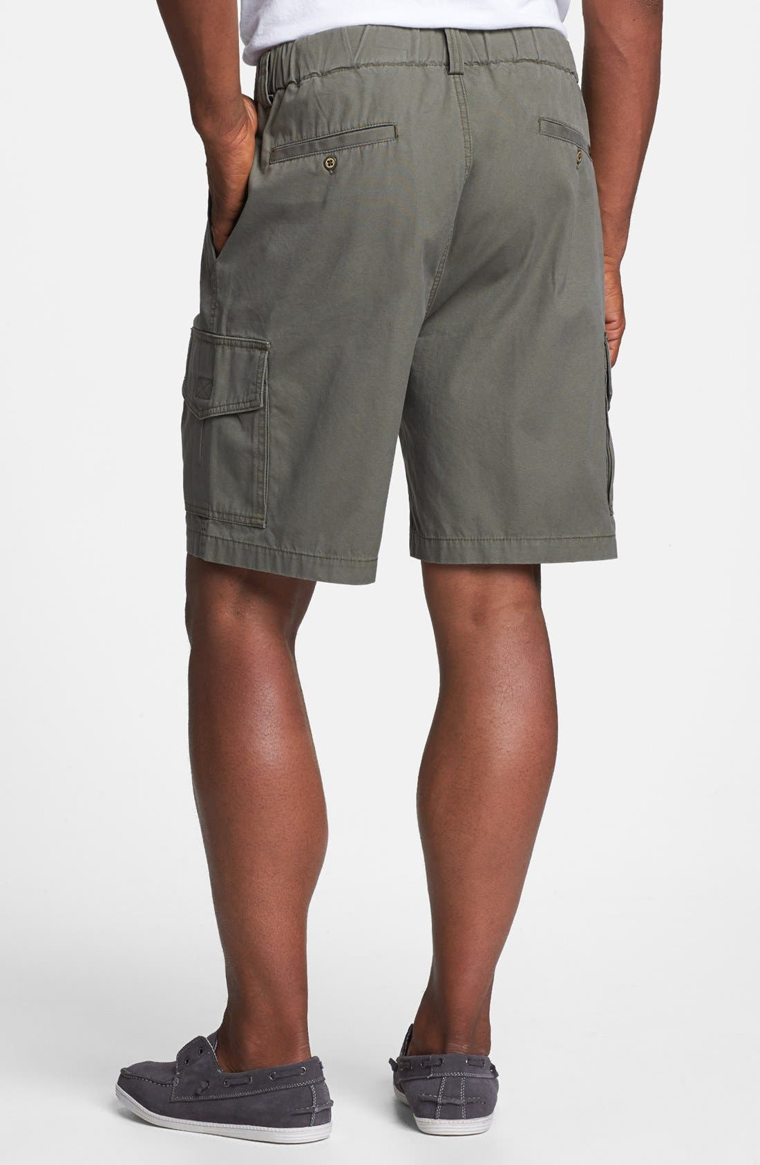 Relax 'Survivor' Cargo Shorts,                             Alternate thumbnail 2, color,                             MOSS