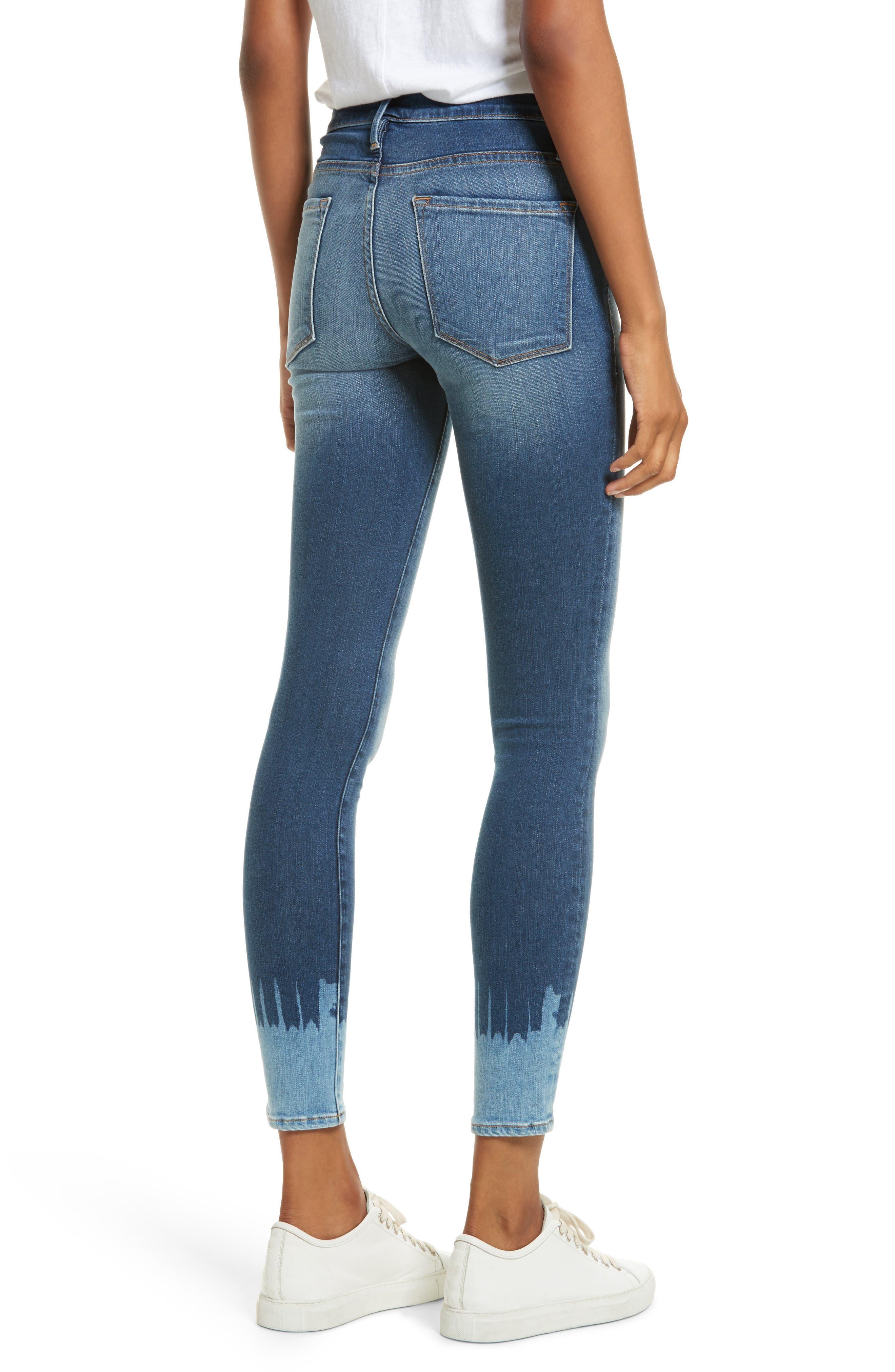 Le Skinny de Jeanne Jeans,                             Alternate thumbnail 2, color,                             420